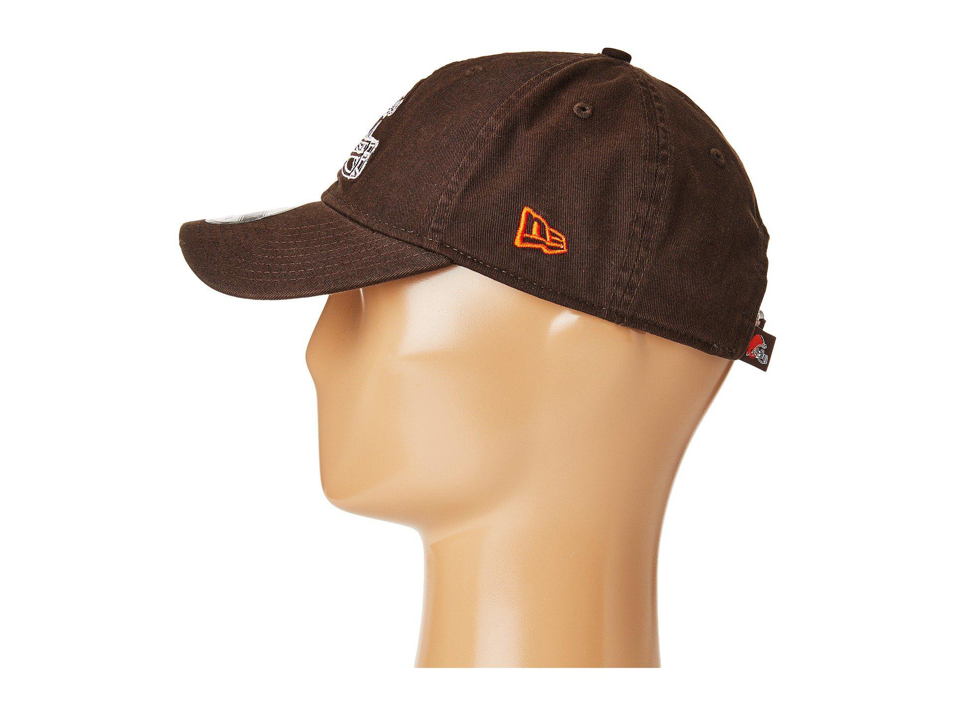 finest selection 82a3e 242b9 Lyst - KTZ Cleveland Browns 9twenty Core (brown) Baseball Caps in ...