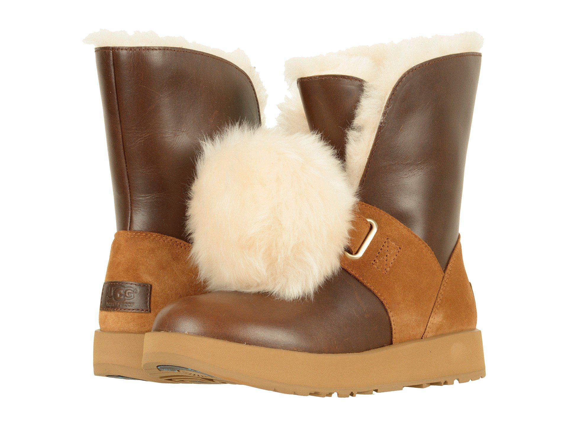 7837b15da5e Brown Isley Waterproof (chestnut) Women's Waterproof Boots