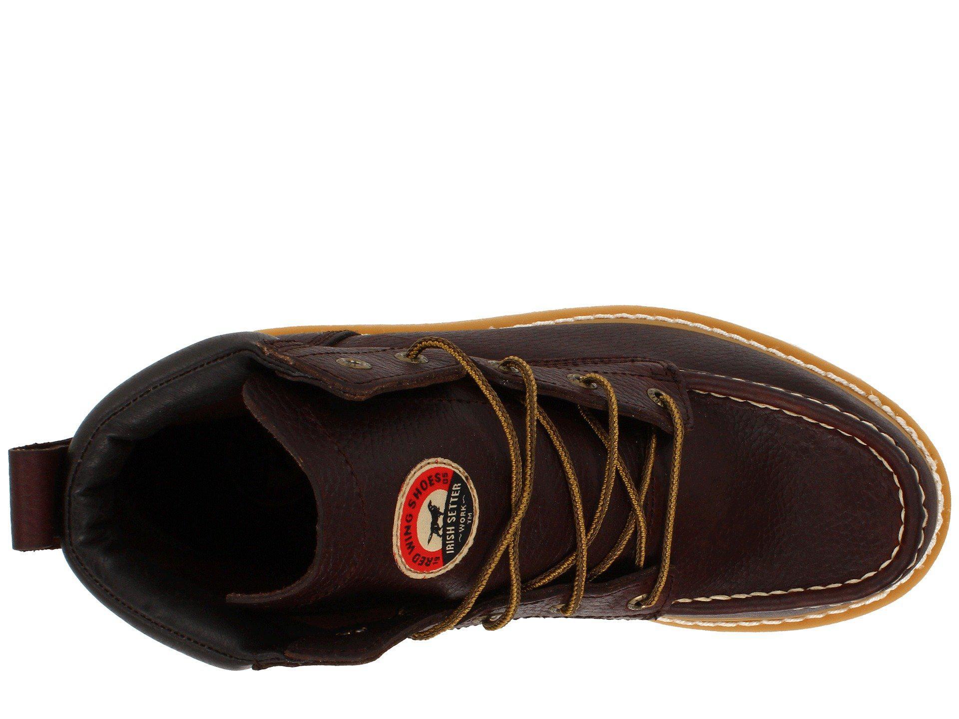 c49236bb6d2 Irish Setter - 83605 6 Wedge (brown) Men's Work Boots for Men - Lyst