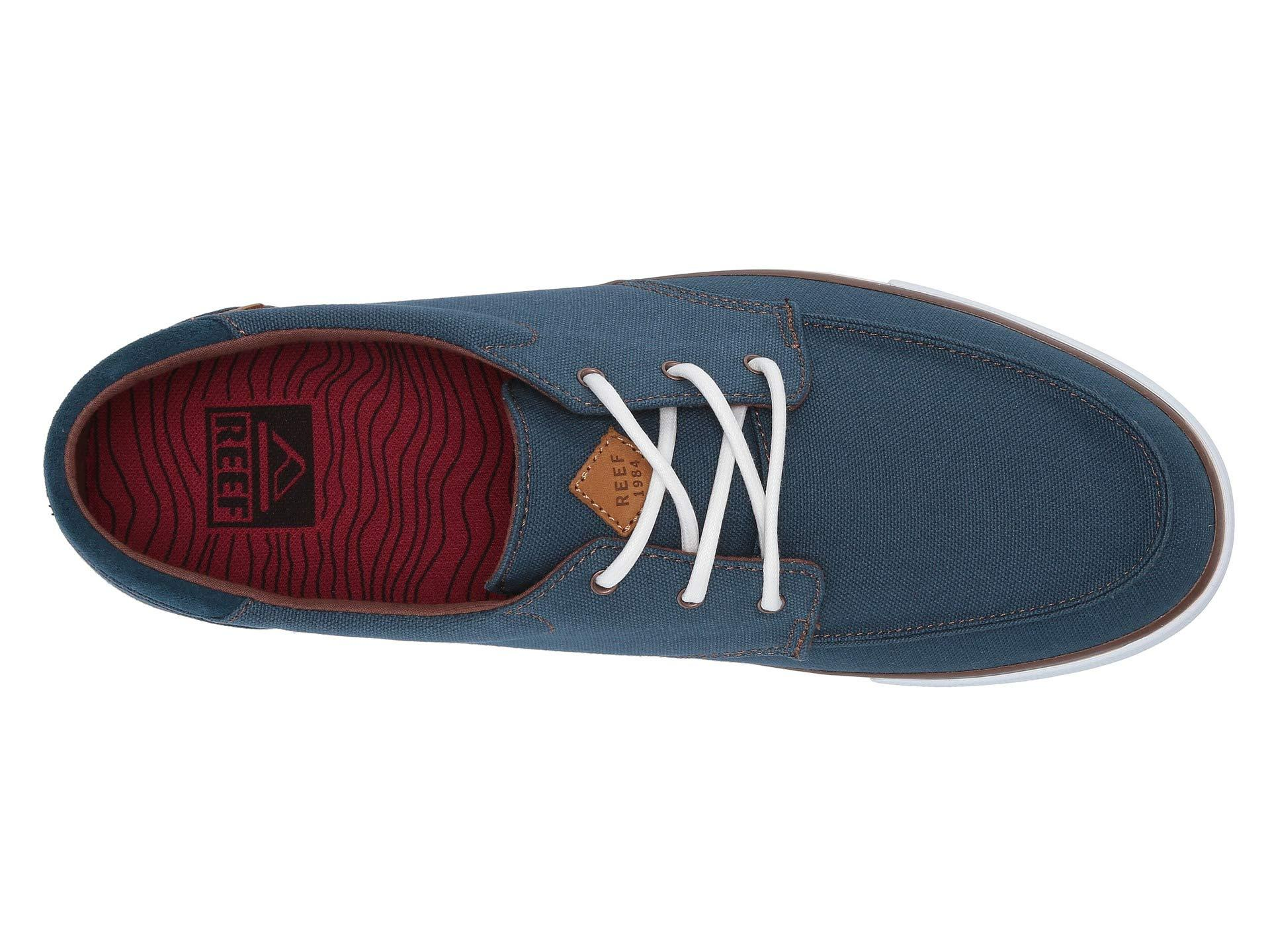 3c43af7c3d5d Reef - Blue Deckhand 3 (grey white) Men s Lace Up Casual Shoes for. View  fullscreen