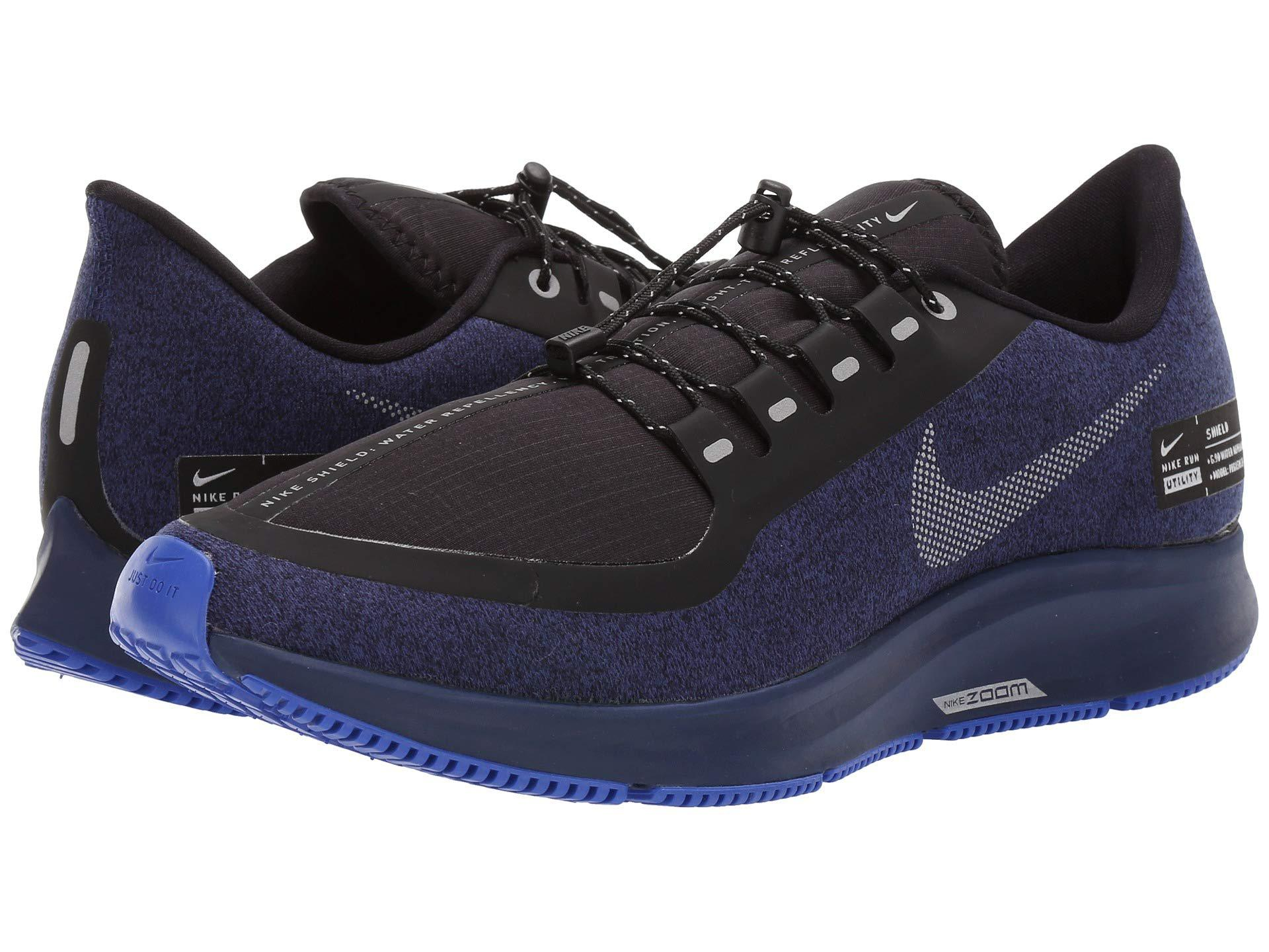 41903d23a223 Lyst - Nike Air Zoom Pegasus 35 Shield (black anthracite anthracite ...
