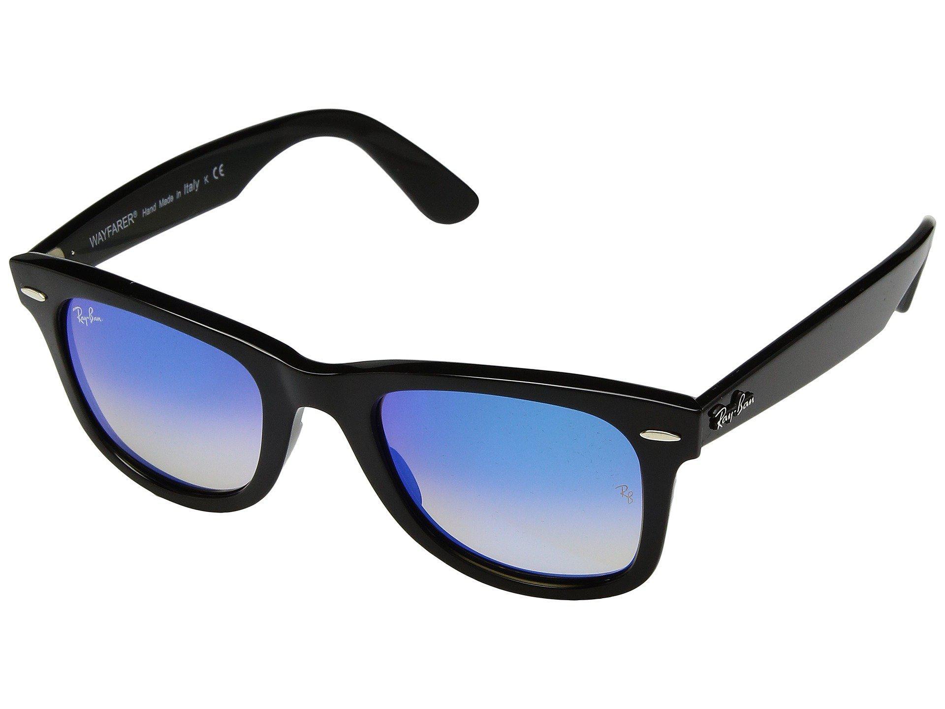 009ecf1a81 Ray-Ban. Men s Wayfarer Ease Rb4340 50mm (black polarized Green Classic G-15)  Fashion Sunglasses