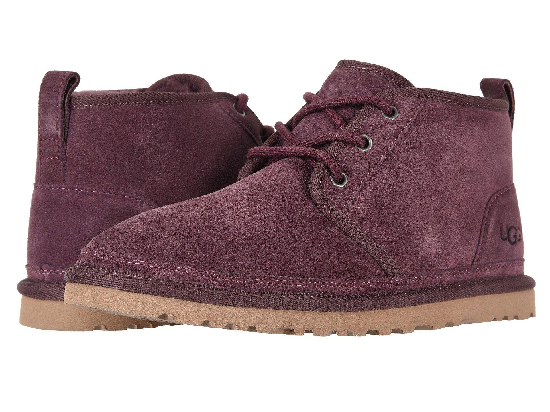 90d56f37b05 Ugg Purple Neumel (port) Women's Lace Up Casual Shoes