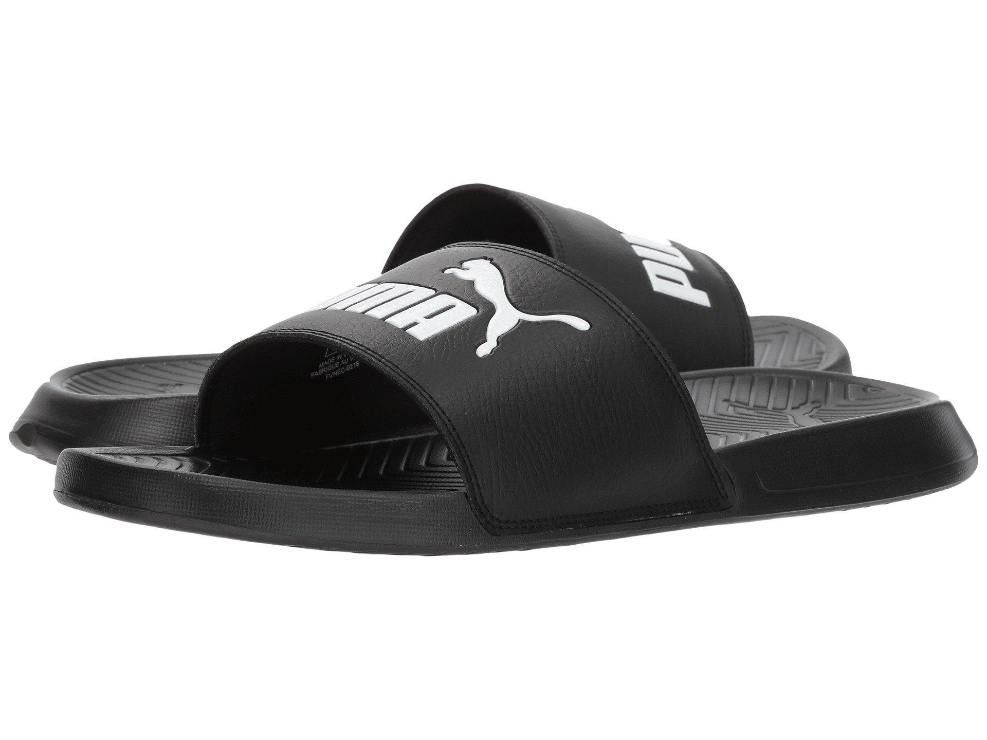 16423a710 Lyst - PUMA Popcat ( White  Black) Men s Sandals in Black for Men