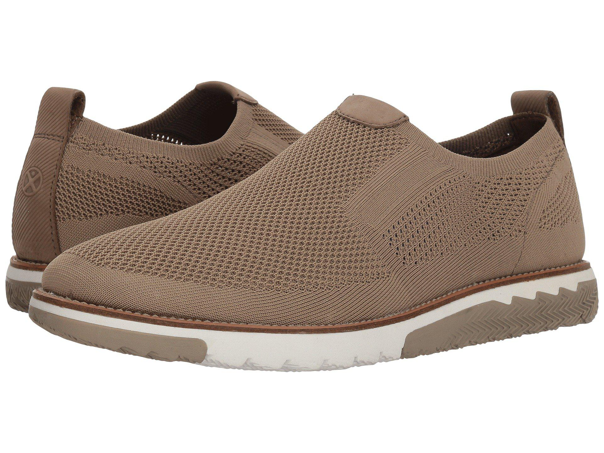 most popular fashion styles lowest discount Hush Puppies Leather Expert Mt Slip-on (taupe Knit/nubuck) Men's ...