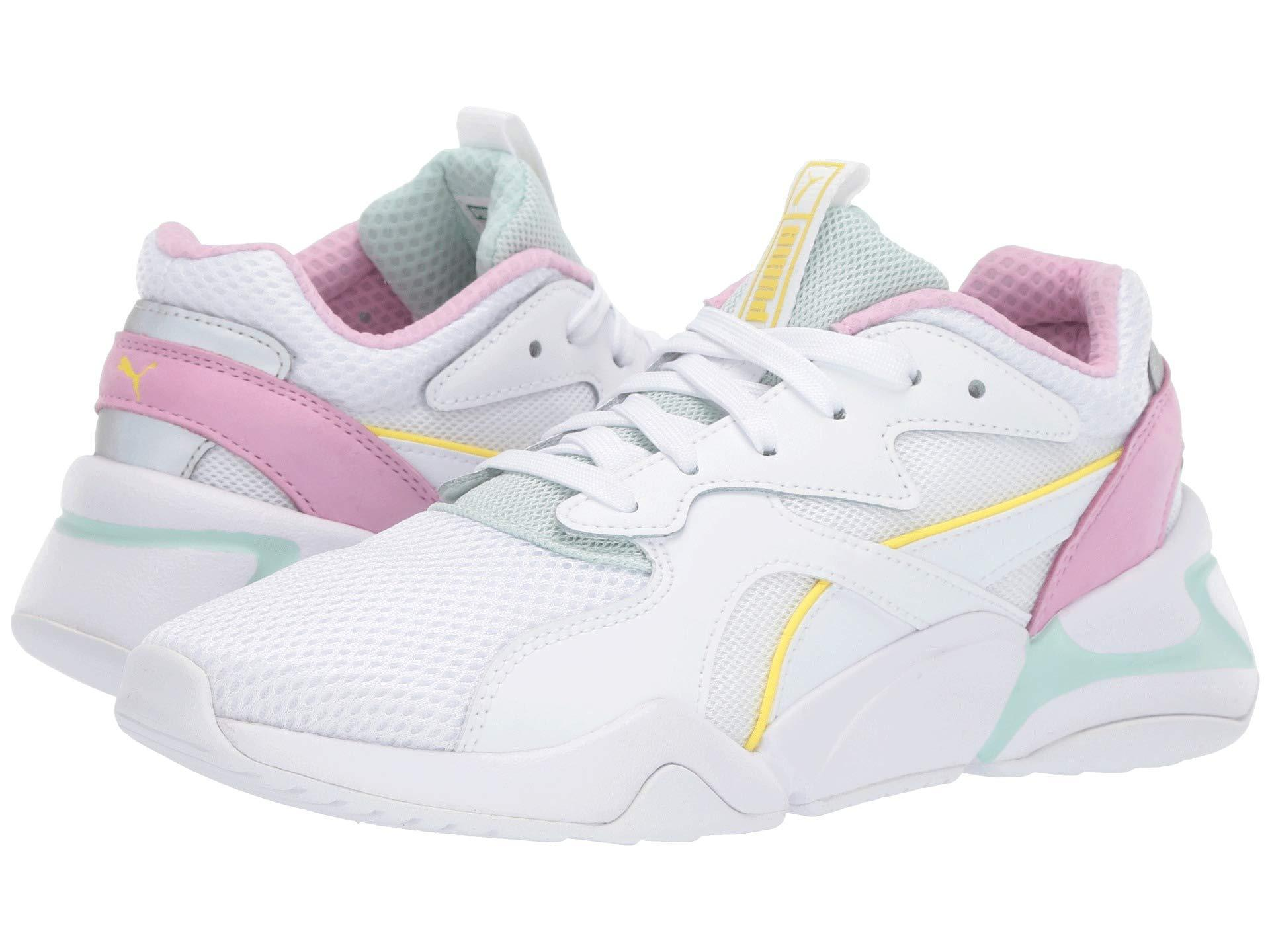 Nova Mesh ( White/fair Aqua) Women's Shoes