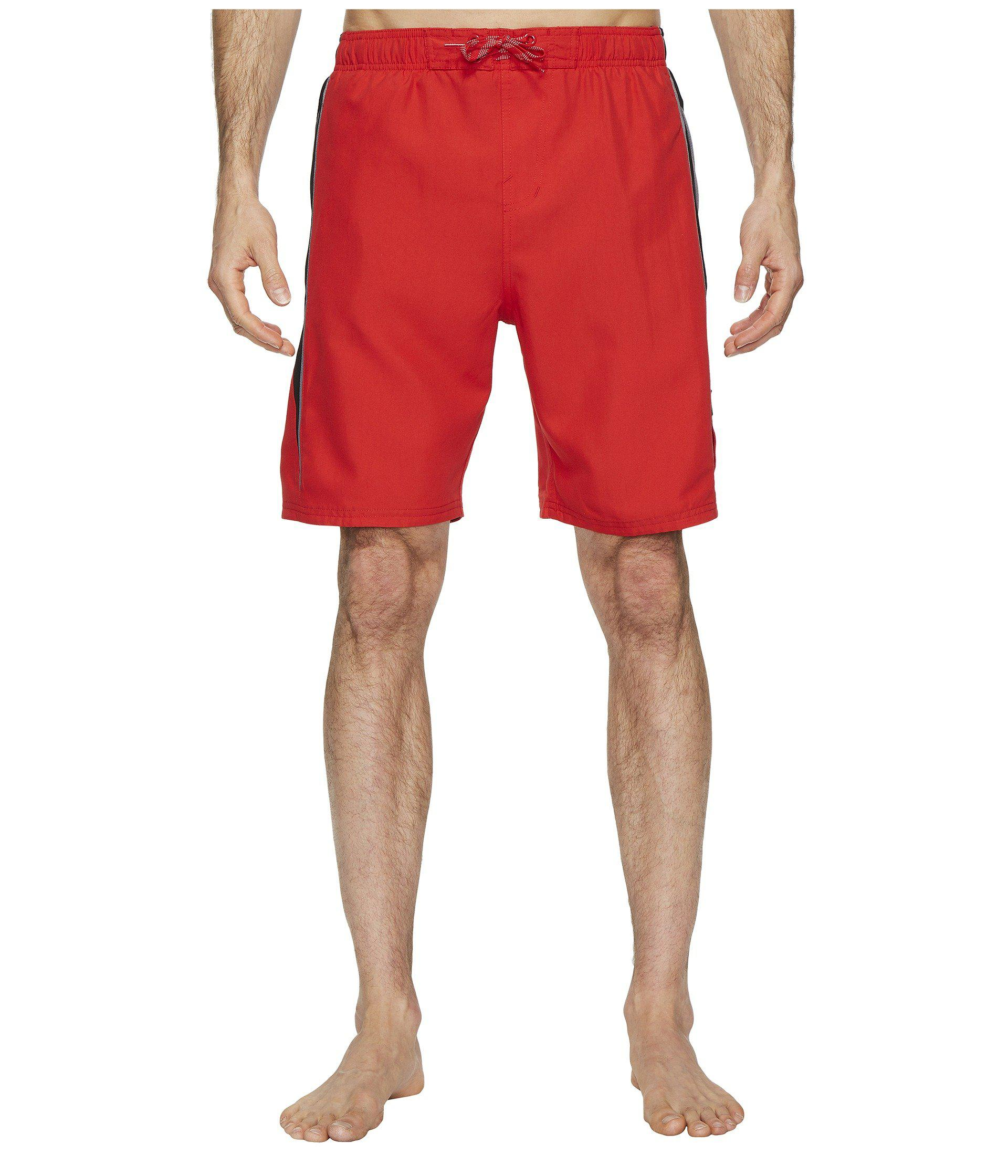 8a1c0ba170 Lyst - Nike Contend 9 Volley Shorts (gunsmoke) Men's Swimwear in Red for Men