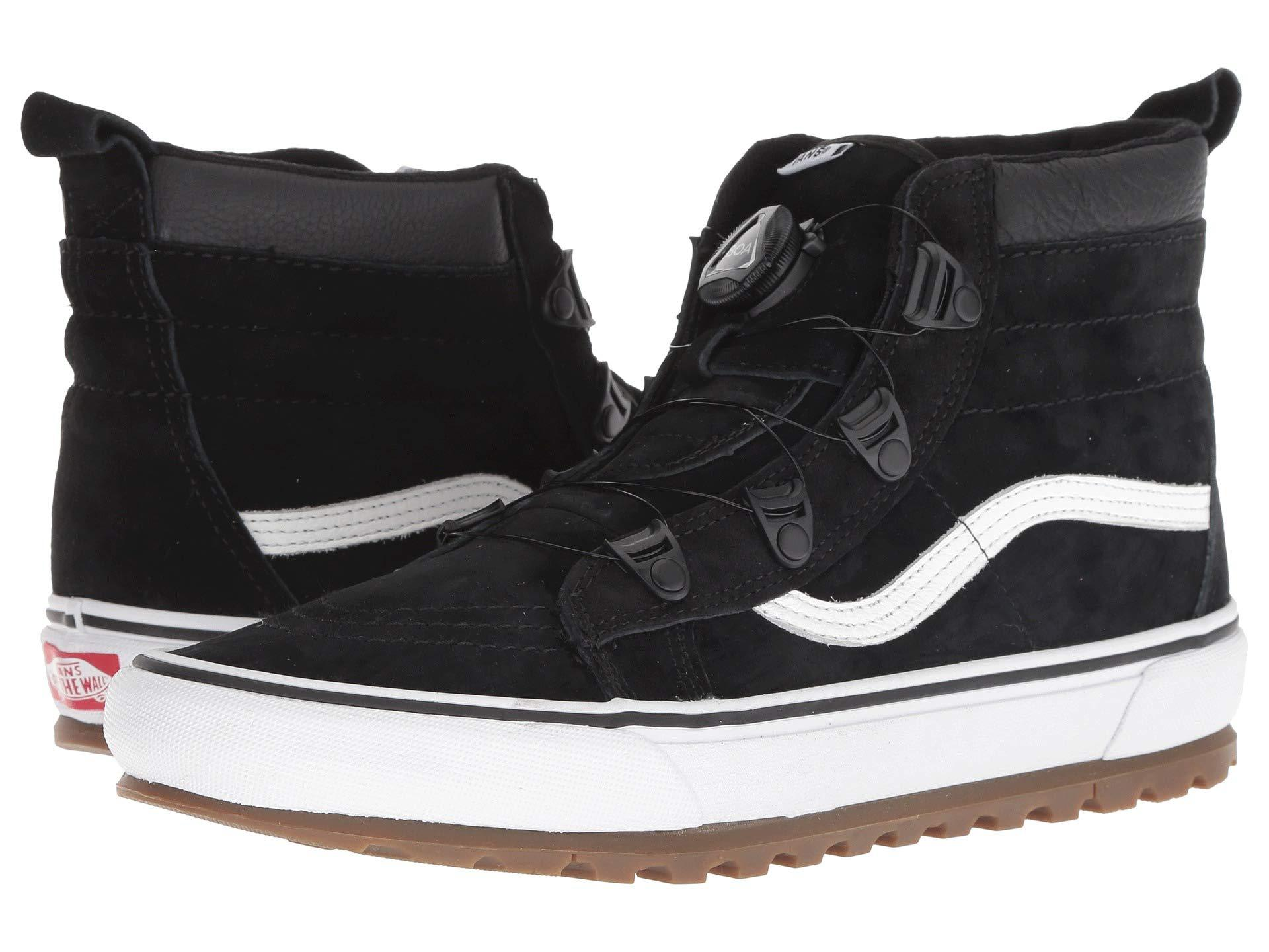 b4e03d4ea6 Lyst - Vans Sk8-hi Mte Boa (black true White) Shoes in Black for Men