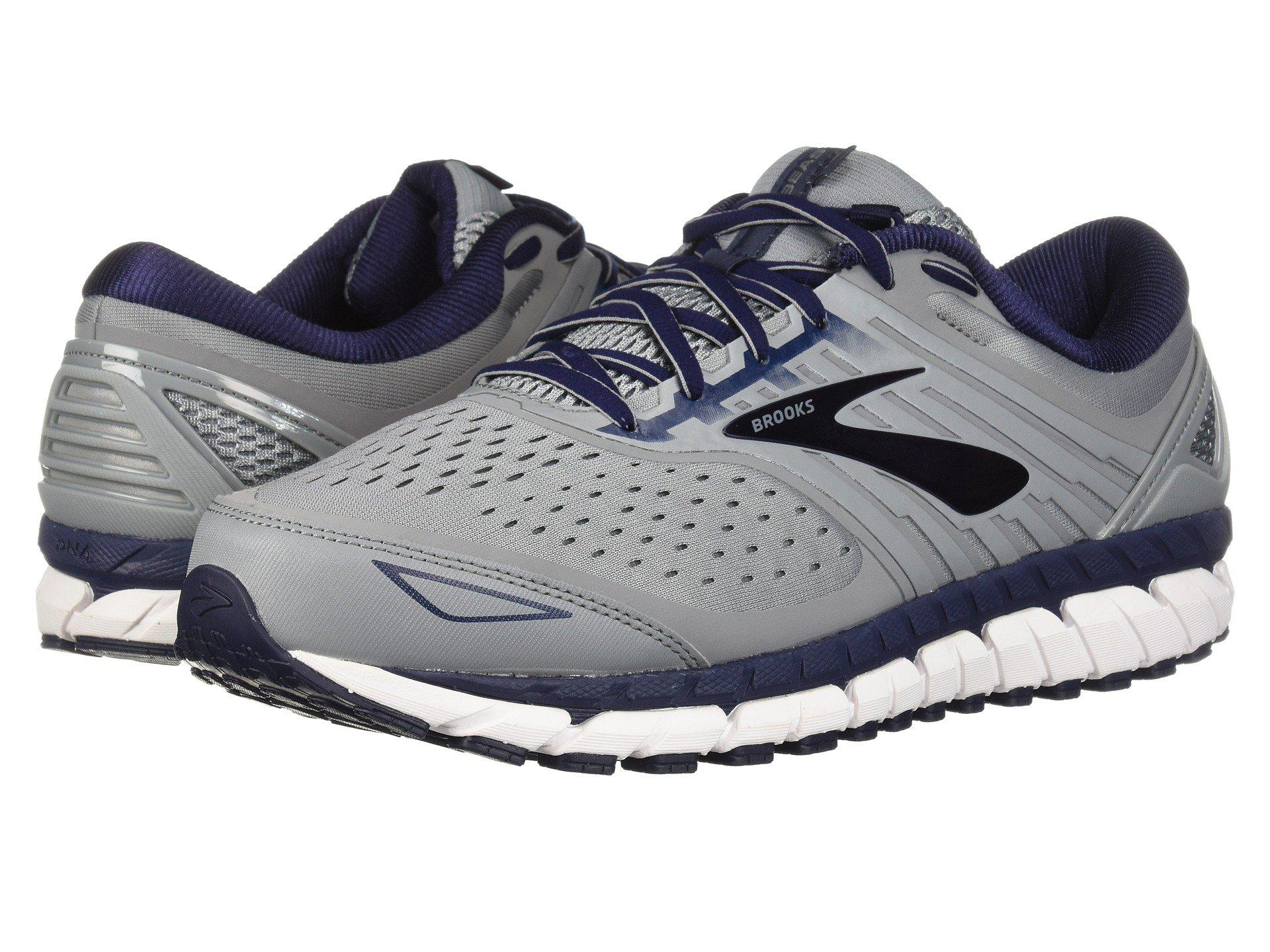 2ad75ad07daba Lyst - Brooks Beast  18 (black grey silver) Men s Running Shoes in ...