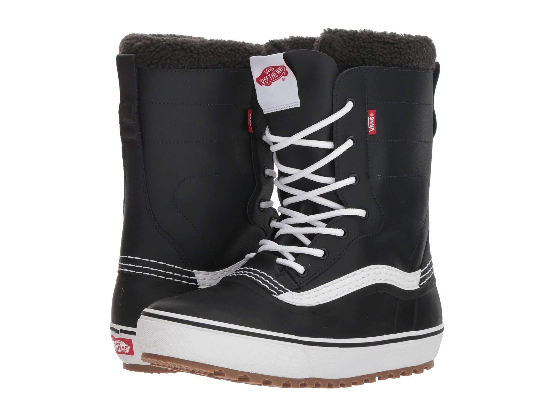 e6148a637b89d1 Lyst - Vans Standardtm Snow Boot  18 (brown white) Men s Snow Shoes ...
