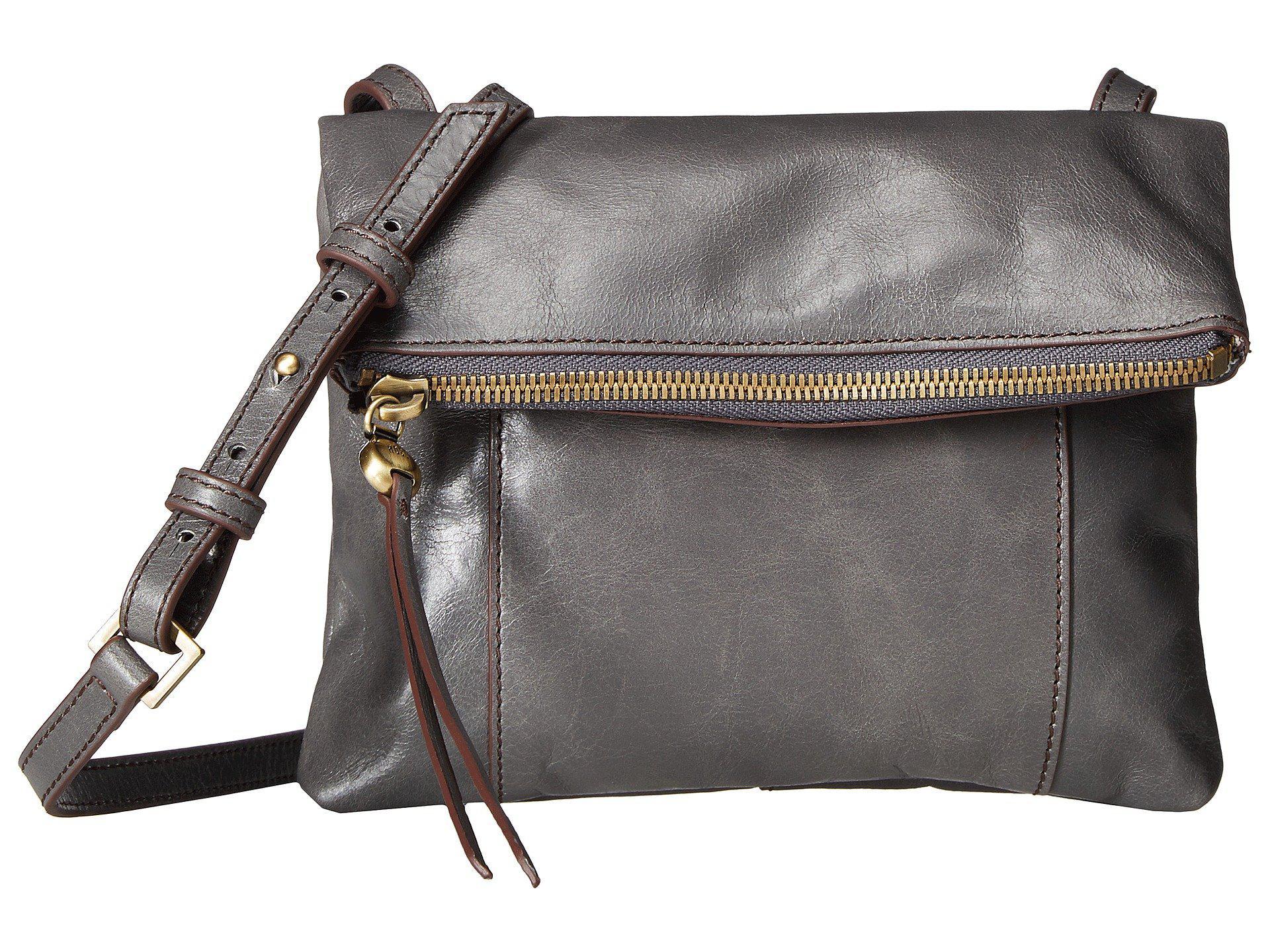 Hobo Women S Gray Sparrow Black Handbags