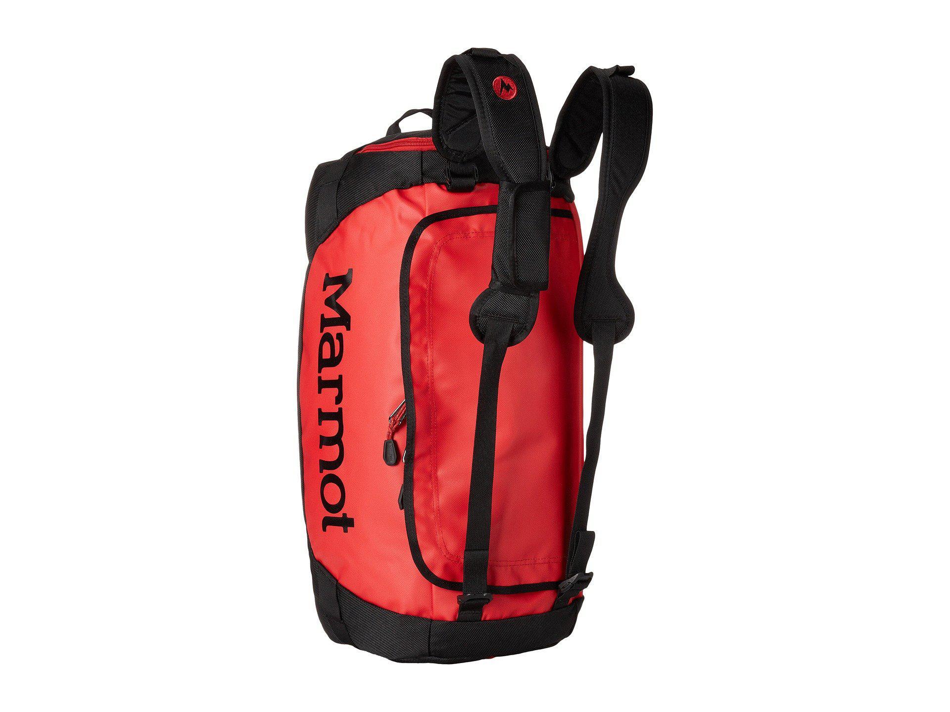 6f1760c57c61 Marmot - Long Hauler Duffle Bag - Small (team Red black) Duffel Bags. View  fullscreen