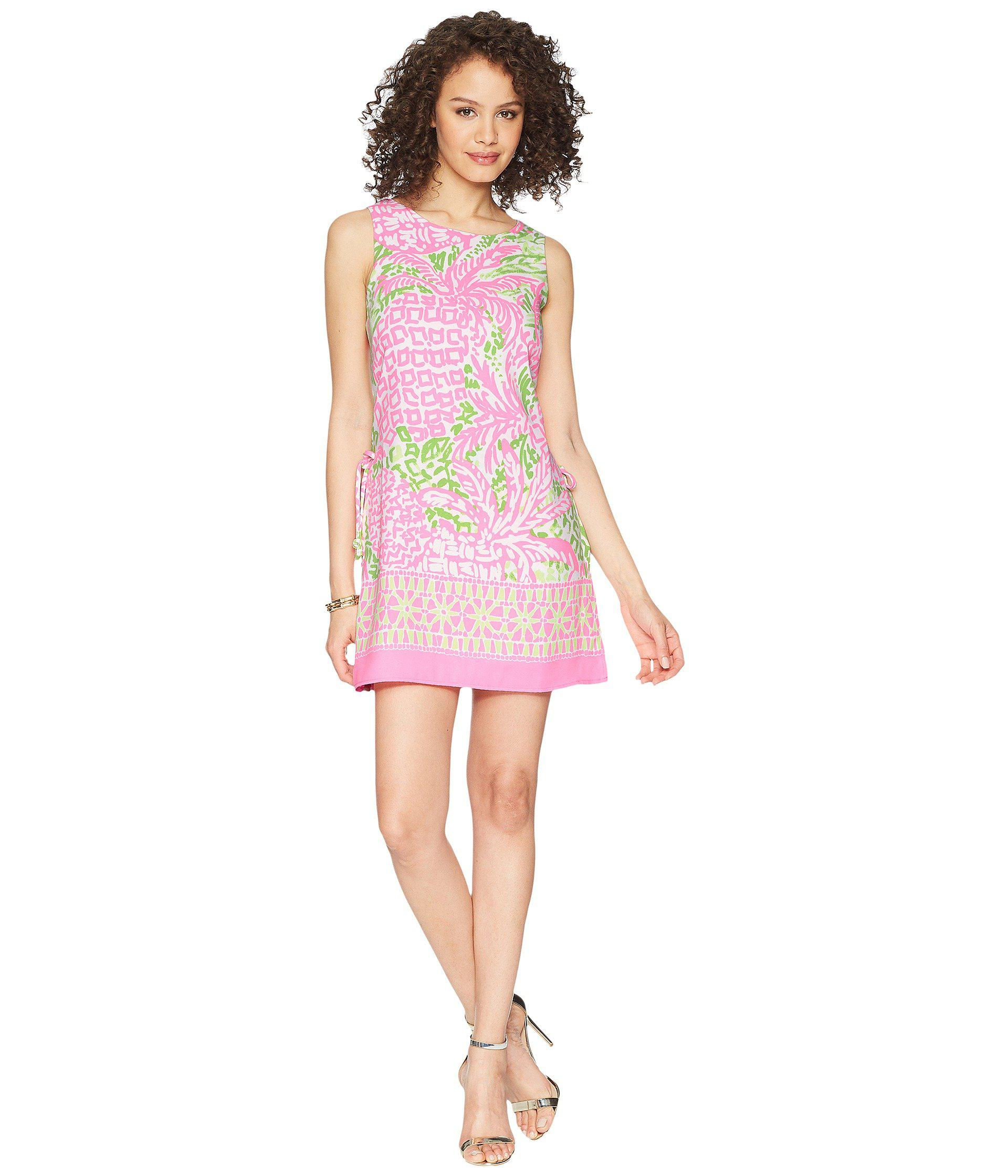 86df9cf33b51 Lyst - Lilly Pulitzer Donna Romper (pink Sunset Home Slice) Women s ...