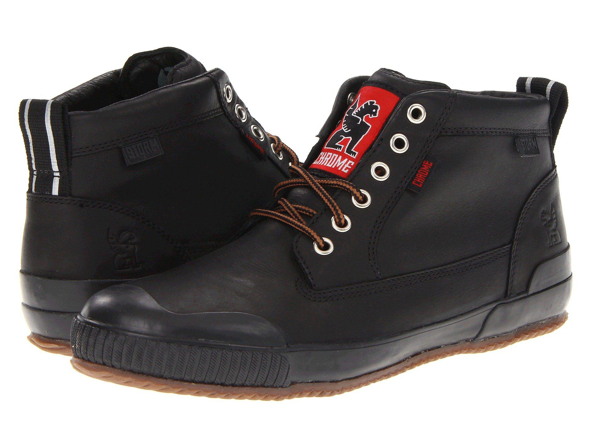 Lyst - Chrome Industries Storm 415 Workboot (black) Cycling Shoes in ... 520e83366b7