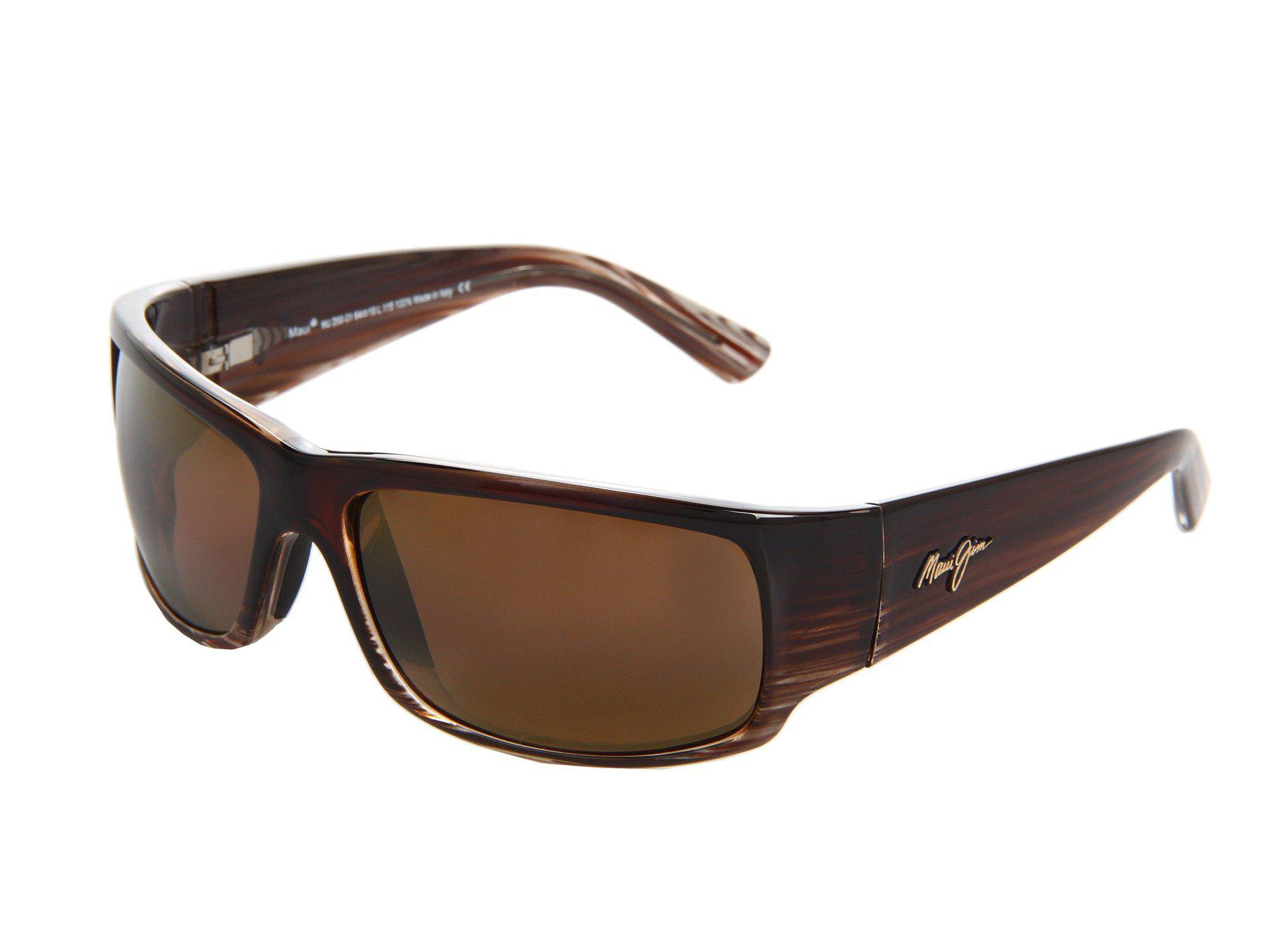 9e8cb7f725b Maui Jim. Women s Brown World Cup (chocolate Stripe Fade hcl Bronze) Sport  Sunglasses