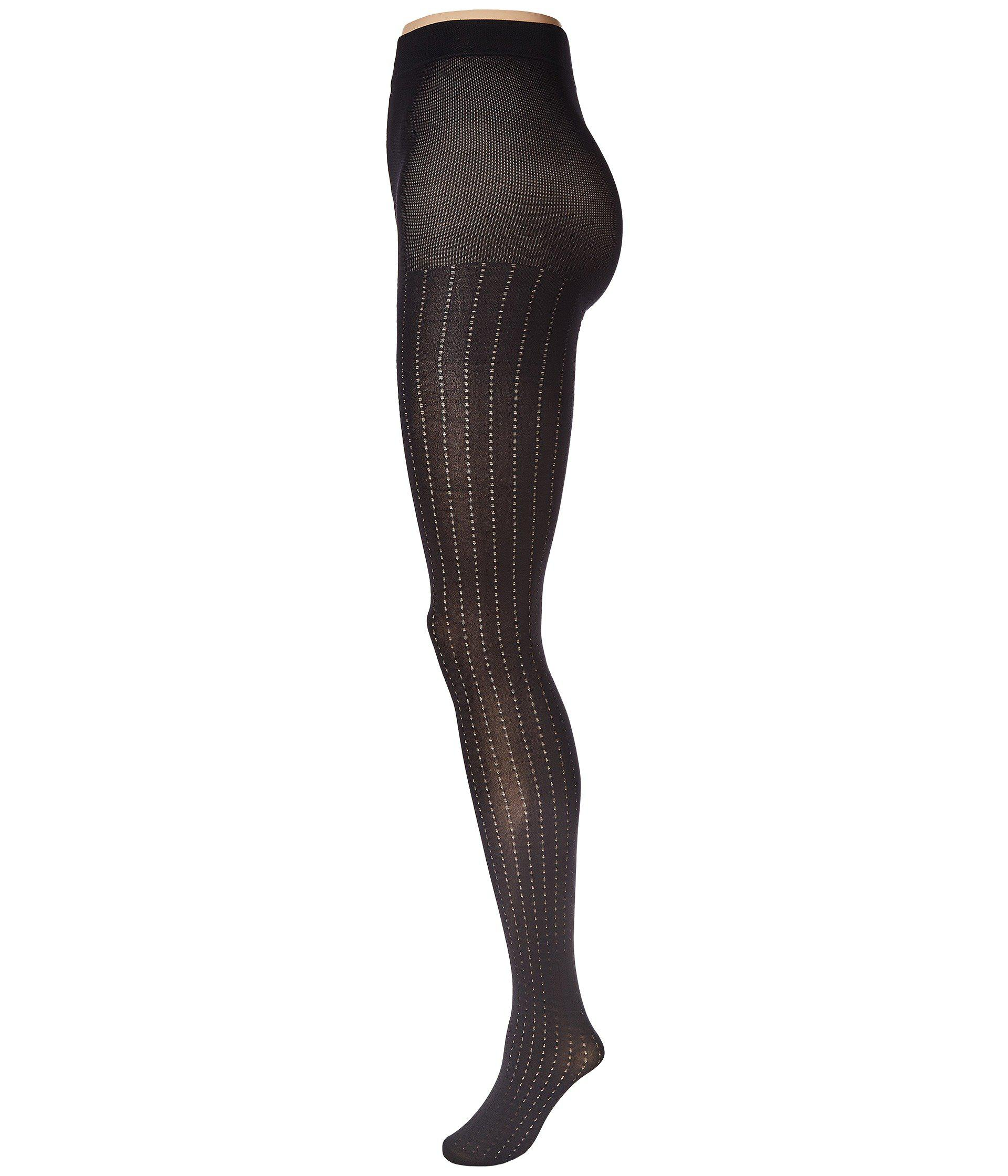 41aae1863 Lyst - Pretty Polly Vertical Pattern Tights (black) Hose in Black
