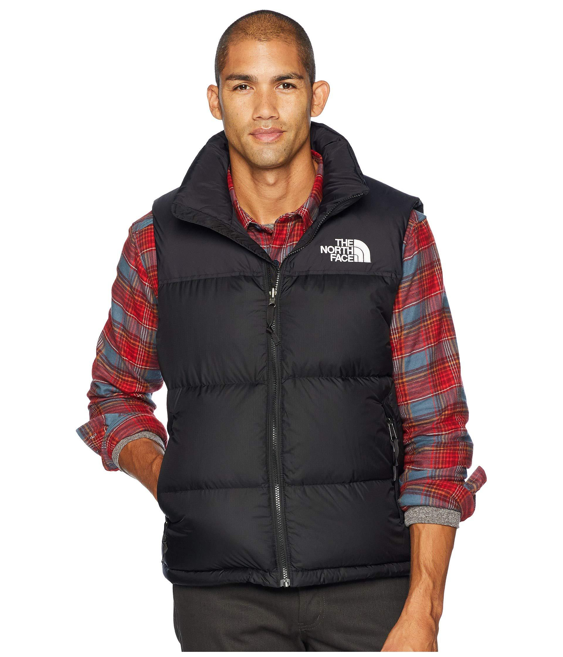 91100dd4eb Lyst - The North Face 1996 Retro Nuptse Vest (aztec Blue) Men s Vest ...