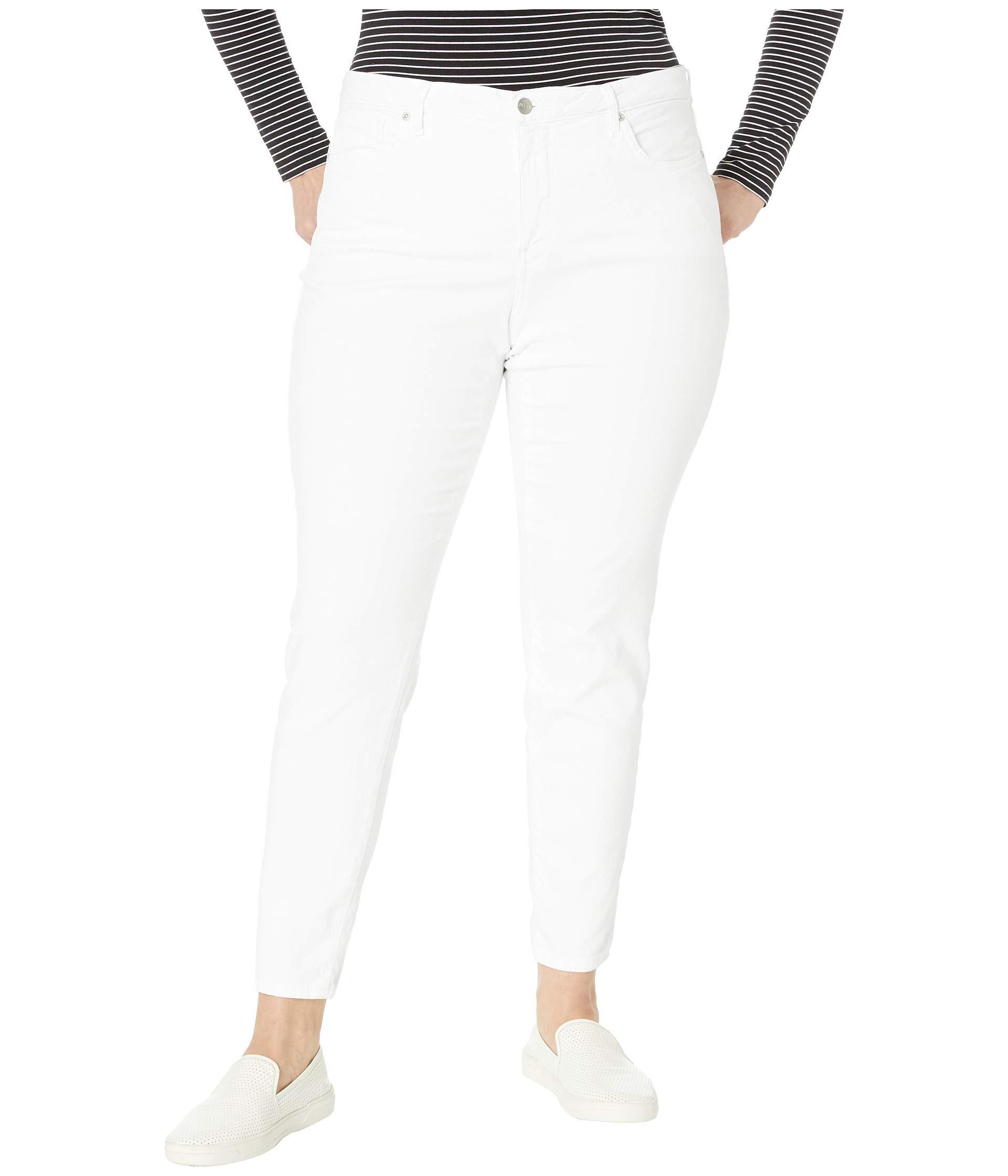 9263fcbb1f96f Lyst - NYDJ Plus Size Ami Skinny In Optic White (optic White ...