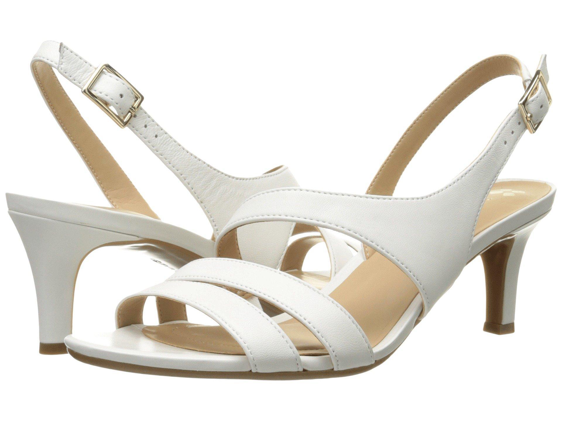 1d03879fbb70 Lyst - Naturalizer Taimi (silver Pearl Grid) High Heels