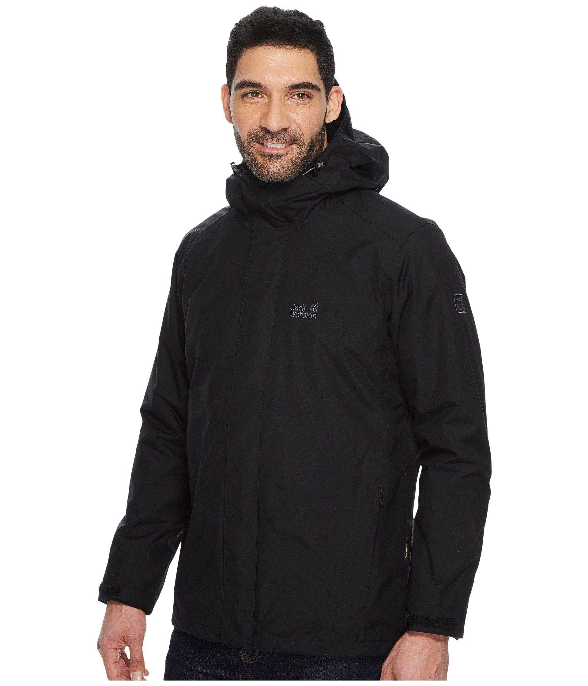 kortingscode discountwinkel schattig Iceland 3-in-1 Jacket (black 1) Men's Coat