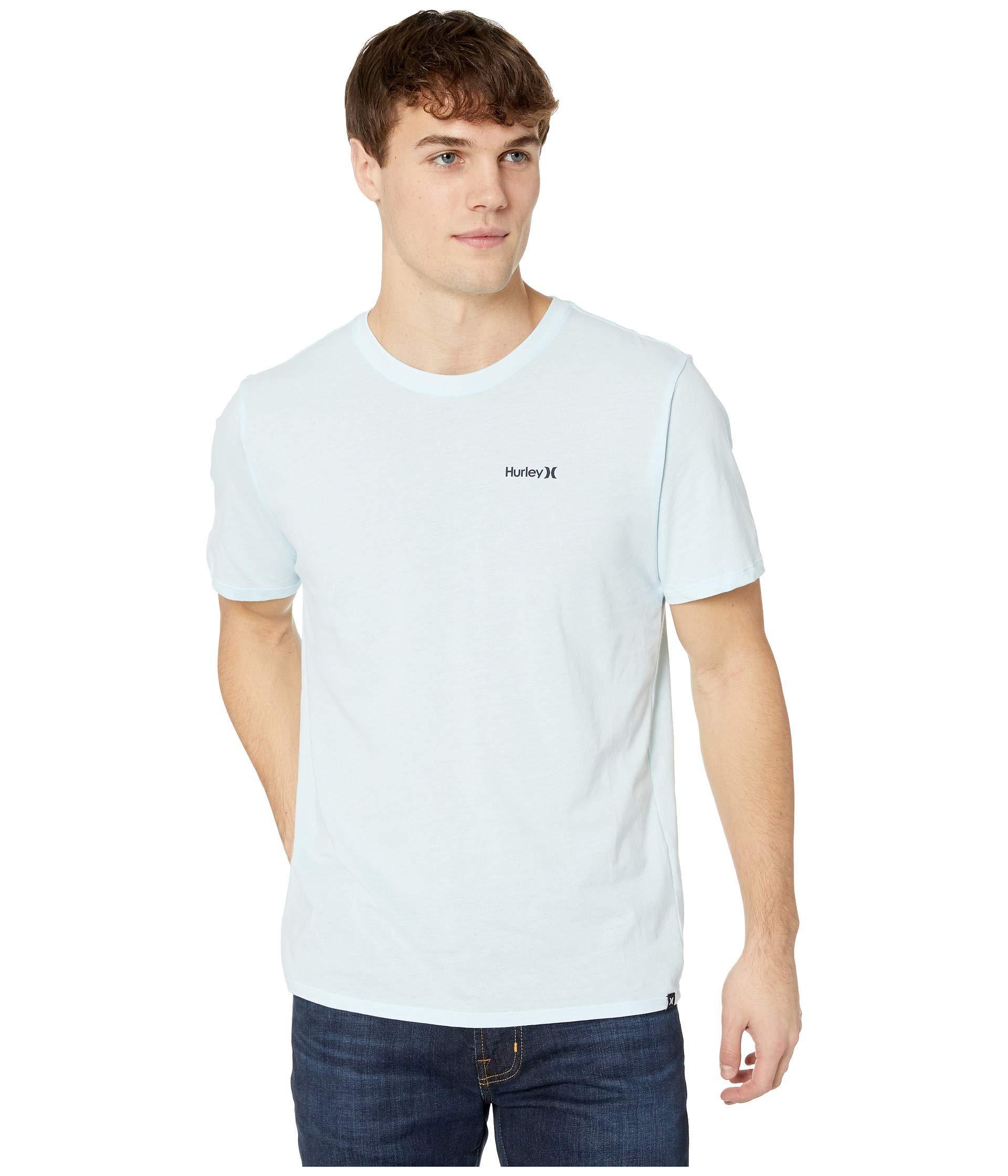 890e4bb5 Hurley - White Dri-fit One Only 2.0 Tee (topaz Mist) Men's Clothing. View  fullscreen