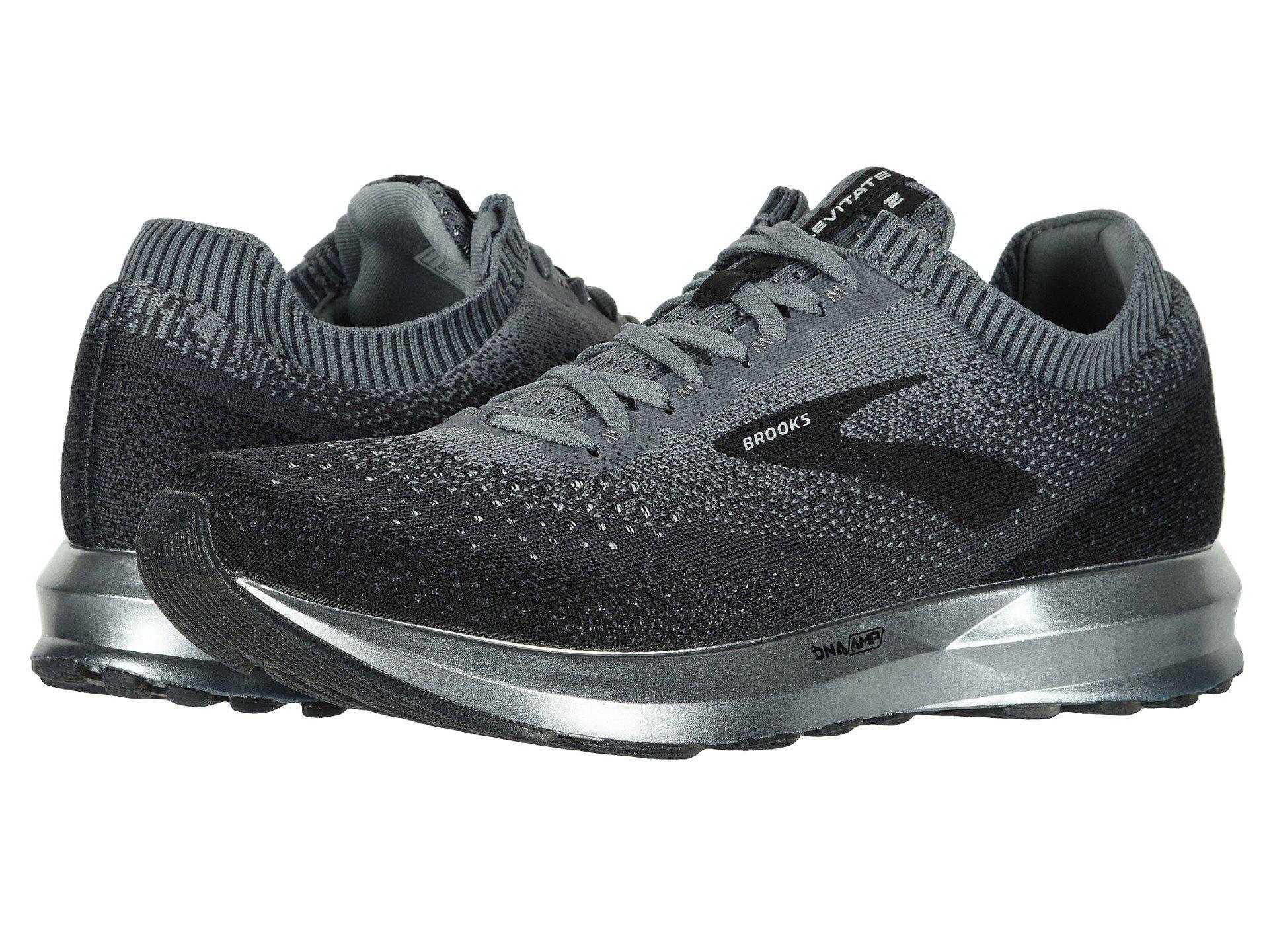 e61cffd1bf88d Brooks - Gray Levitate 2 (mallard Green grey black) Men s Running Shoes.  View fullscreen
