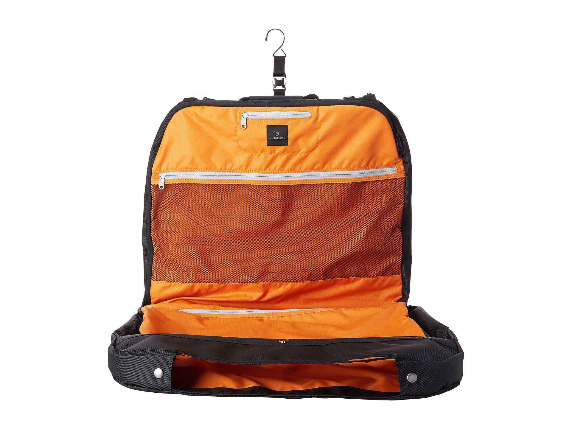 eb0064ba0 Victorinox Werks Traveler 5.0 - Wt Deluxe Garment Sleeve in Black - Lyst