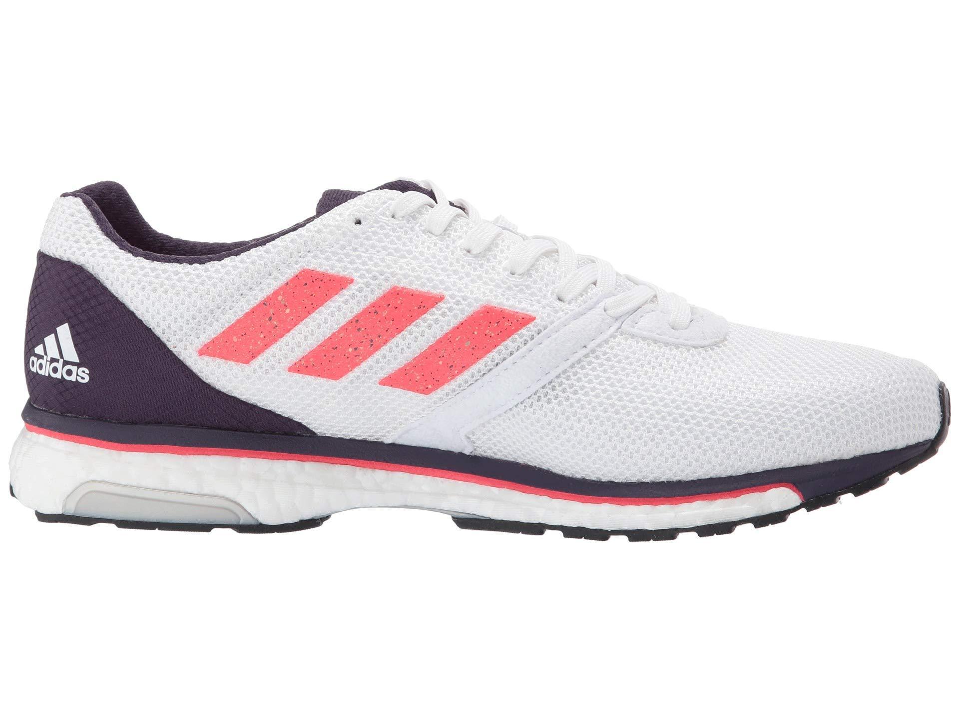 adidas adizero Adios 4 Women's WhiteShock RedLegend Purple