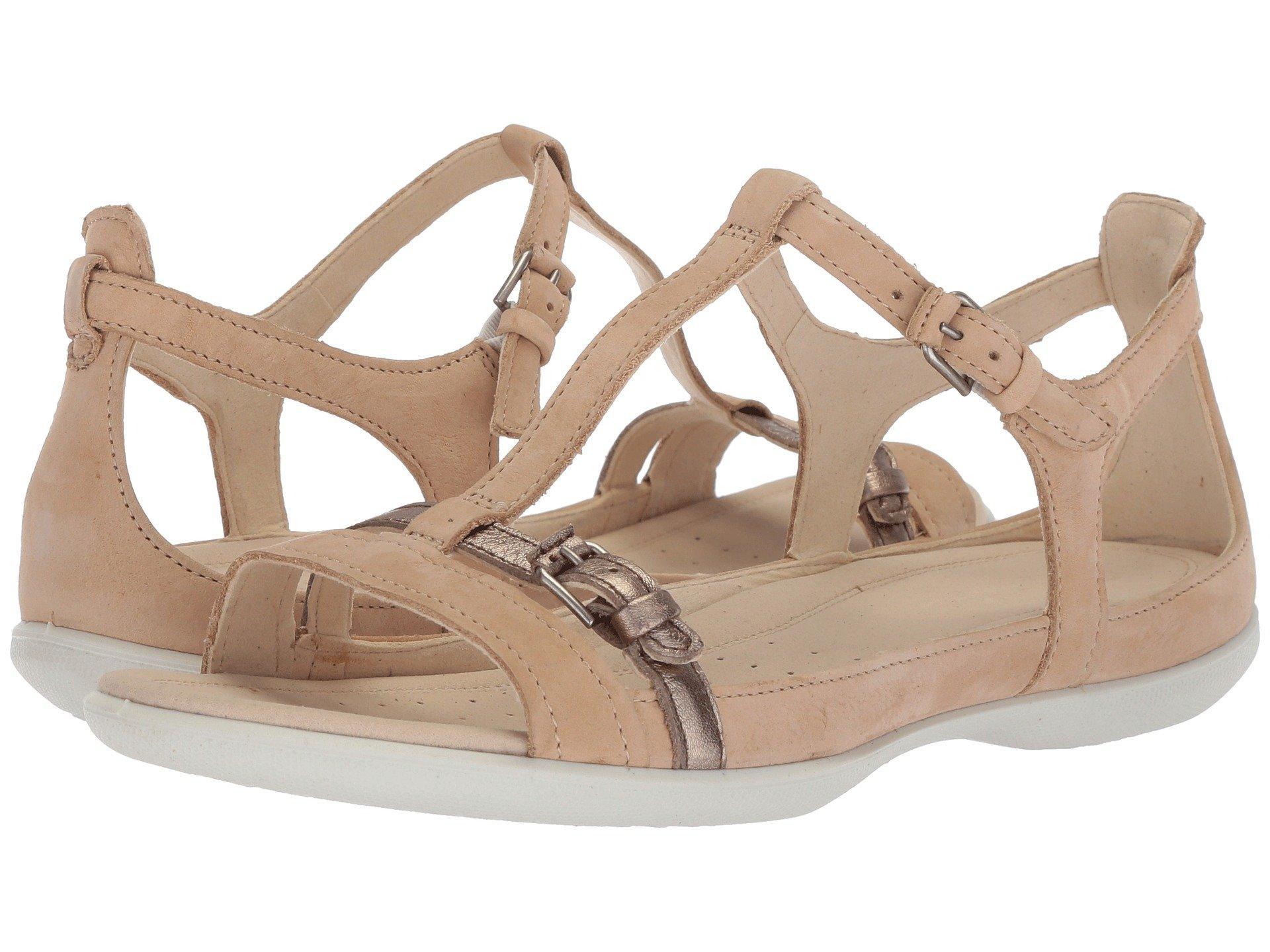 51df814ea8 Ecco Gray Flash Buckle Sandal (vanilla Metallic) Women's Sandals