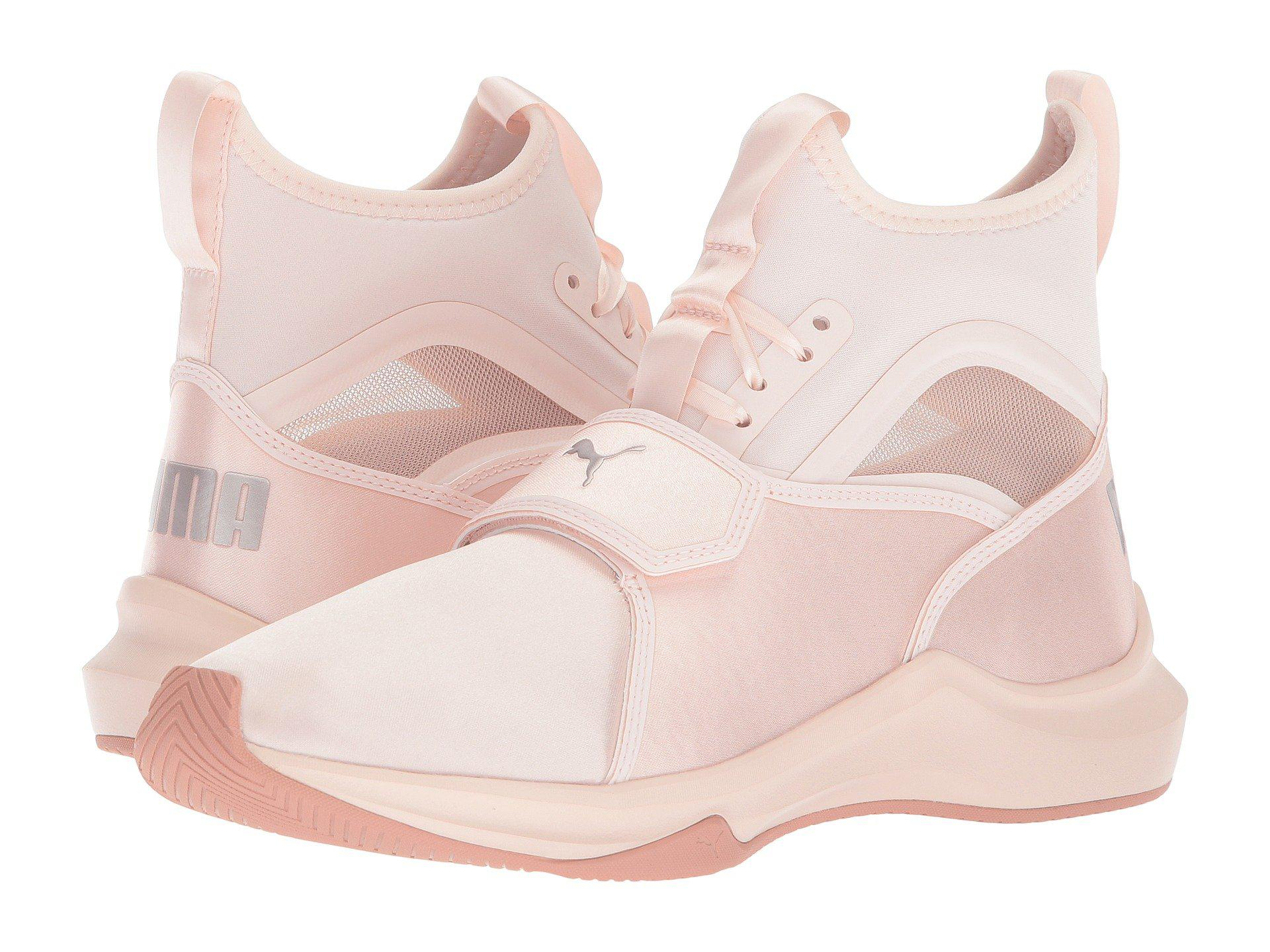 PUMA Phenom Satin Ep (pearl/pearl) Women's Shoes in Pink - Lyst