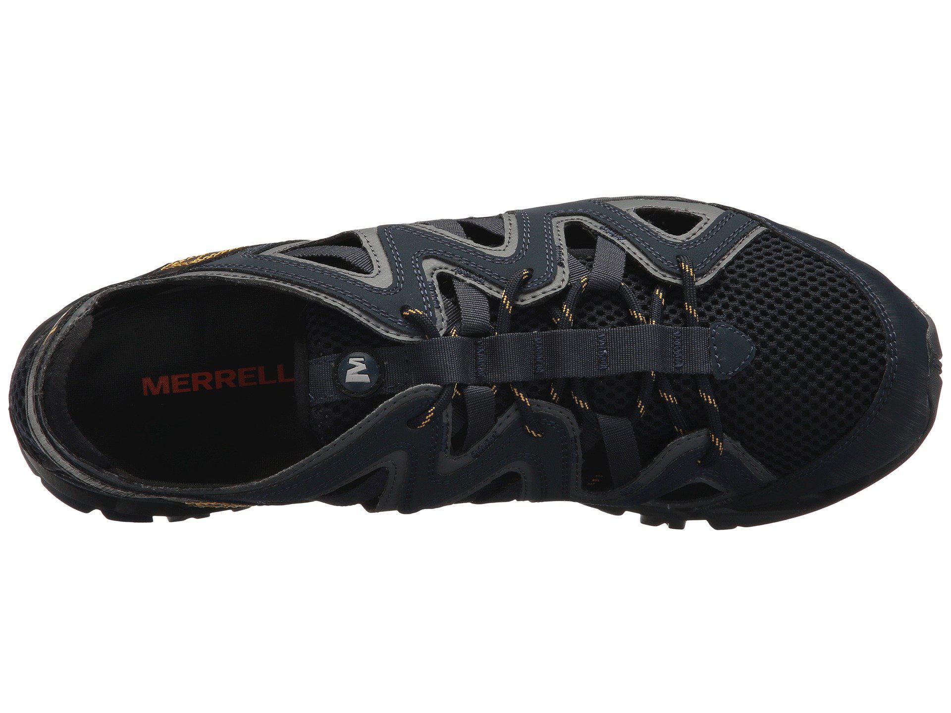 2b1ec84a9e6 Merrell - Blue Tetrex Crest Wrap (navy) Men s Shoes for Men - Lyst. View  fullscreen