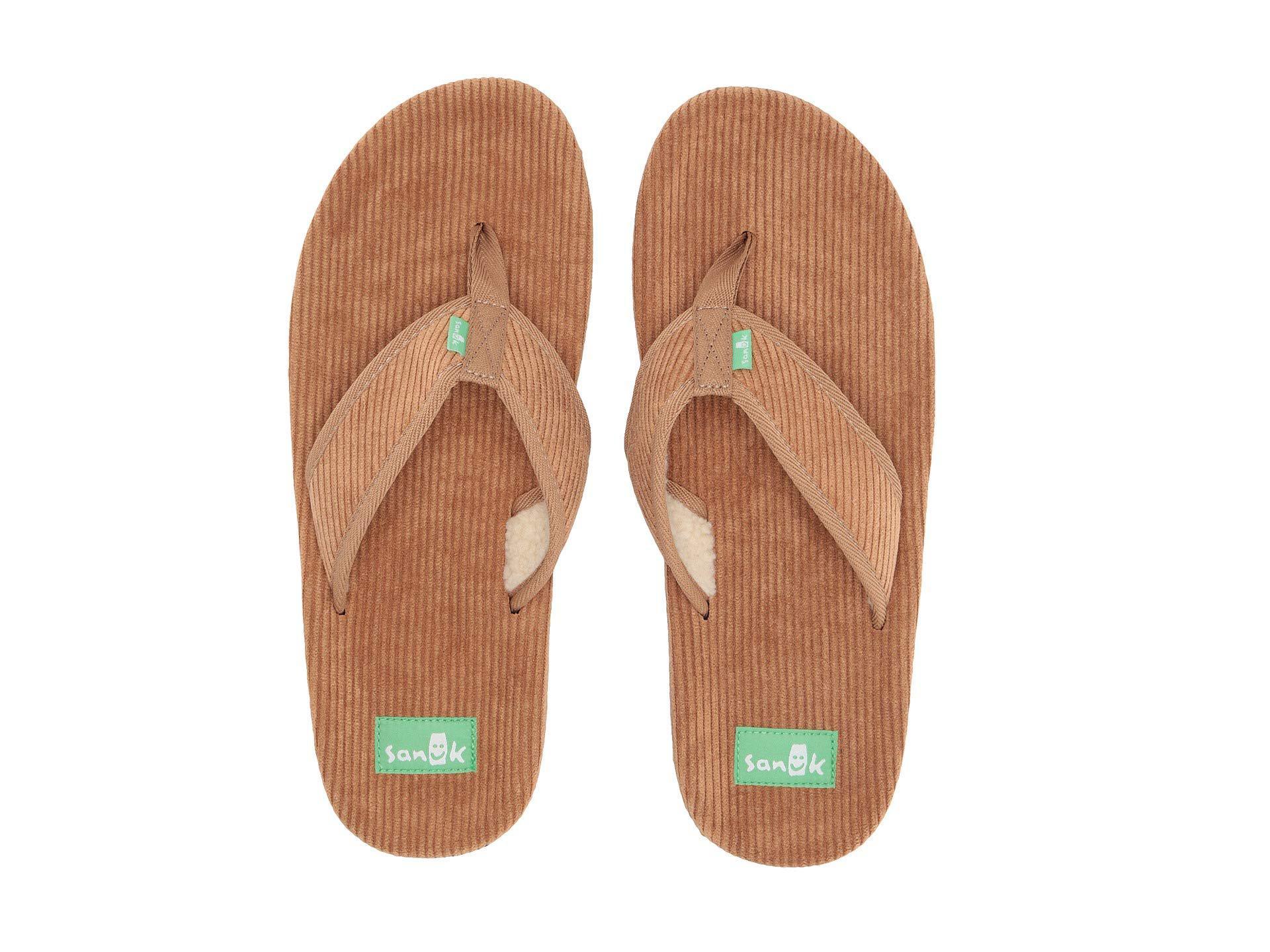 f3eec5569 Lyst - Sanuk Furreal Classic Cord (black) Men s Sandals in Brown for Men