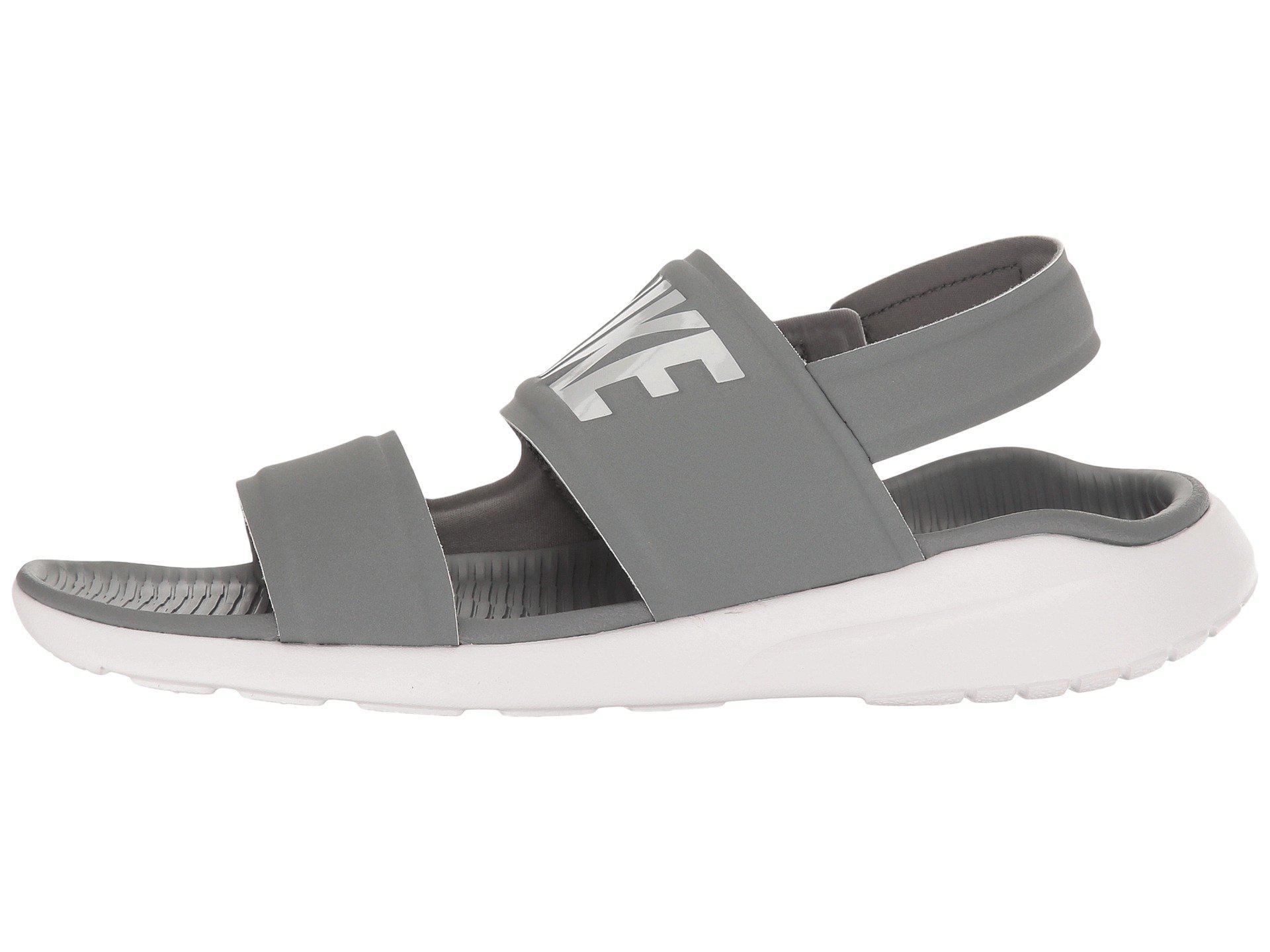6c1450e2b501 Lyst - Nike Tanjun Sandal (black black white) Women s Shoes in Gray