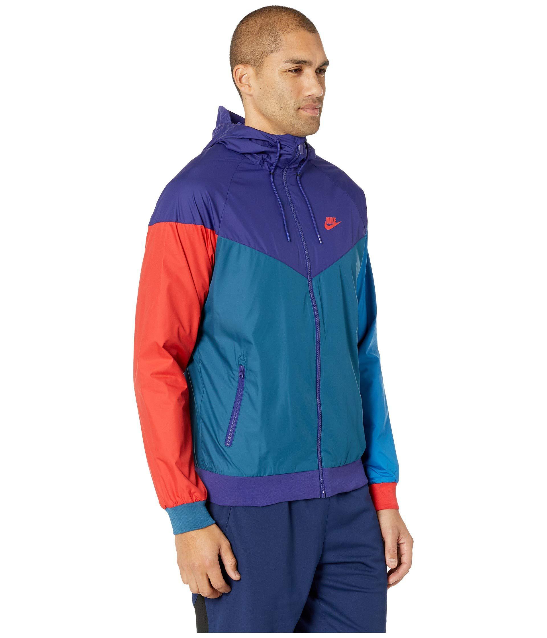 3a7b1ba19601 Lyst - Nike Sportwear Windrunner Jacket (olive Canvas dark Stucco white)  Men s Coat in Blue for Men