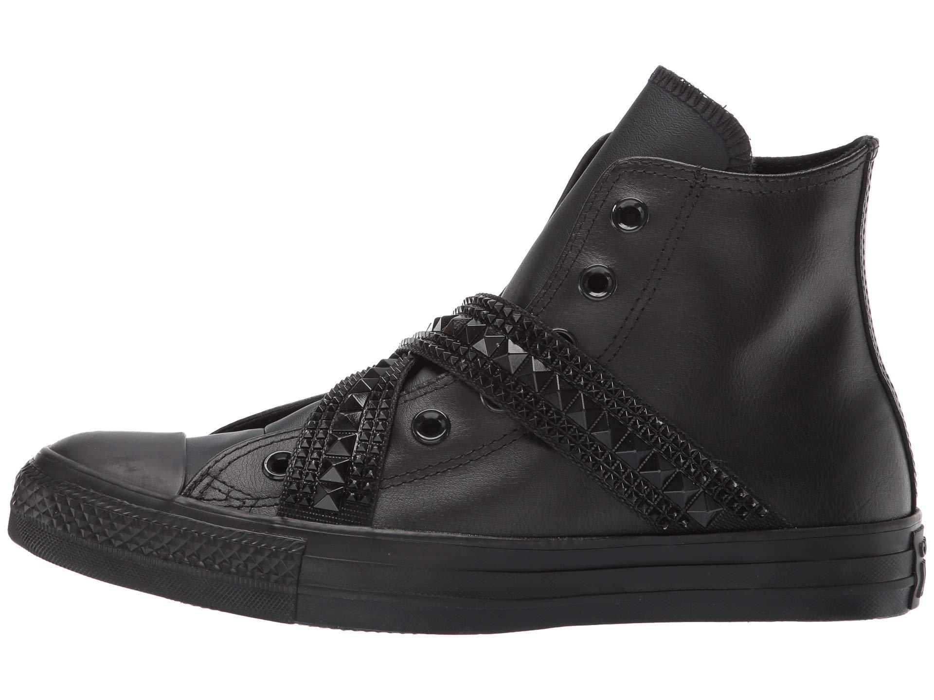 2converse all star sneakers camoscio