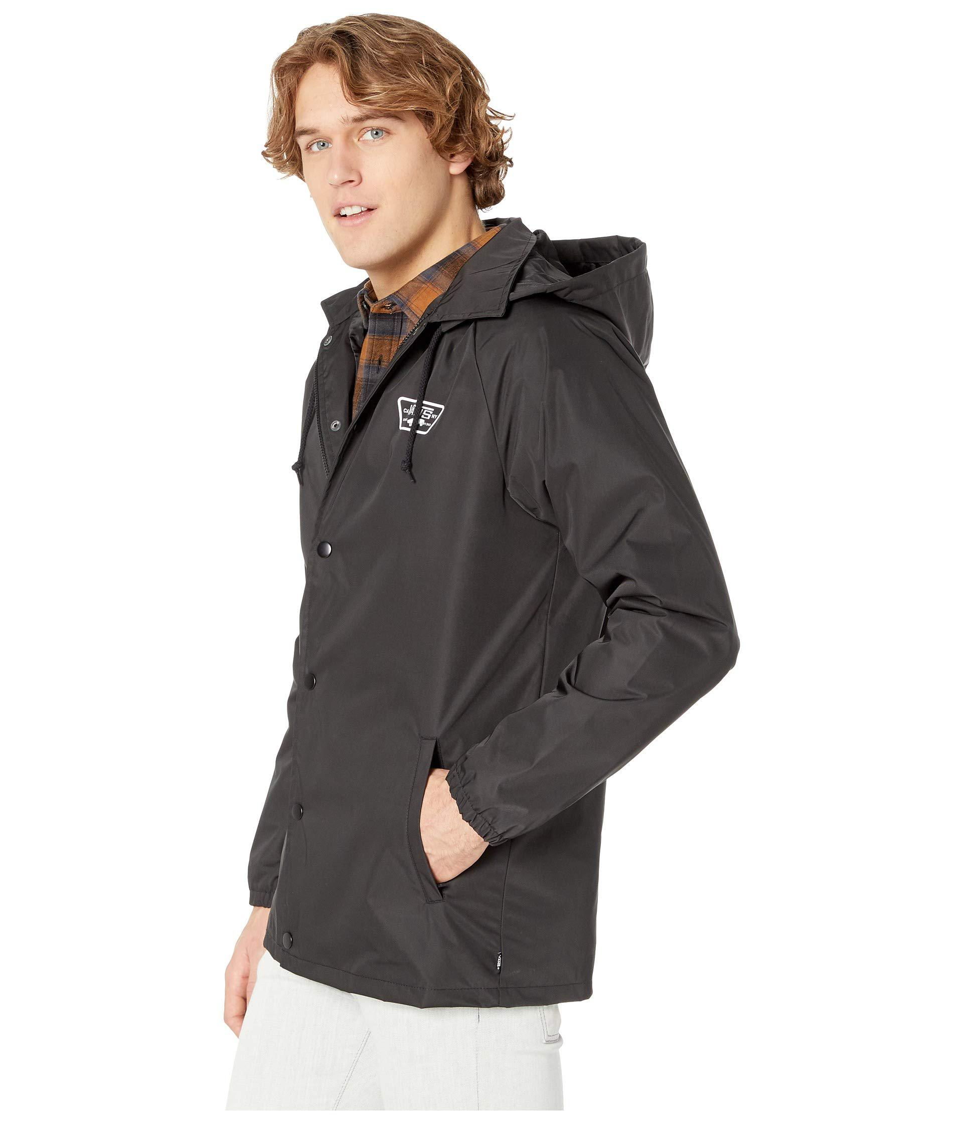 a68f941264 Vans - Black Torrey Hooded Mte Jacket (camo) Men s Coat for Men - Lyst.  View fullscreen