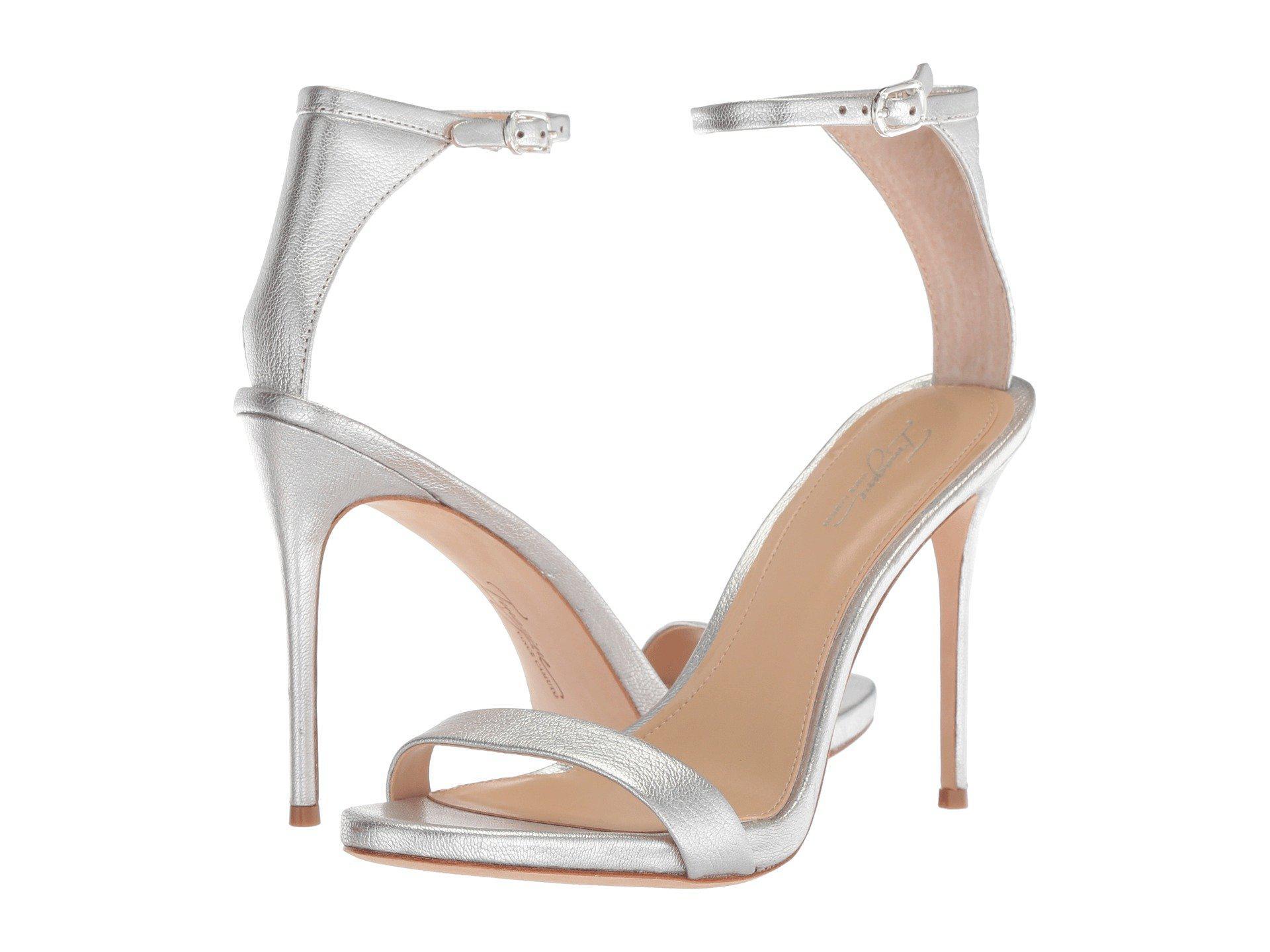 Imagine Vince Camuto Dacia 2 Metallic Ankle Strap Dress Sandals AWxSL