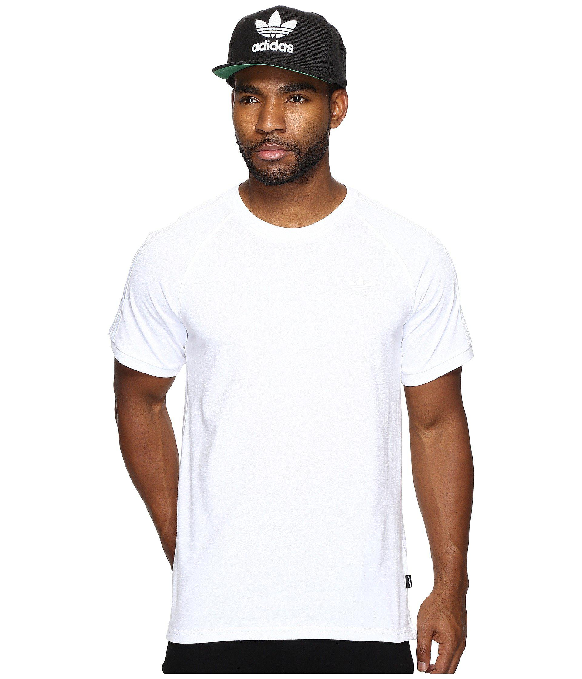 e032533f728 Lyst - adidas Originals California 2.0 Tee (white white) Men s T ...