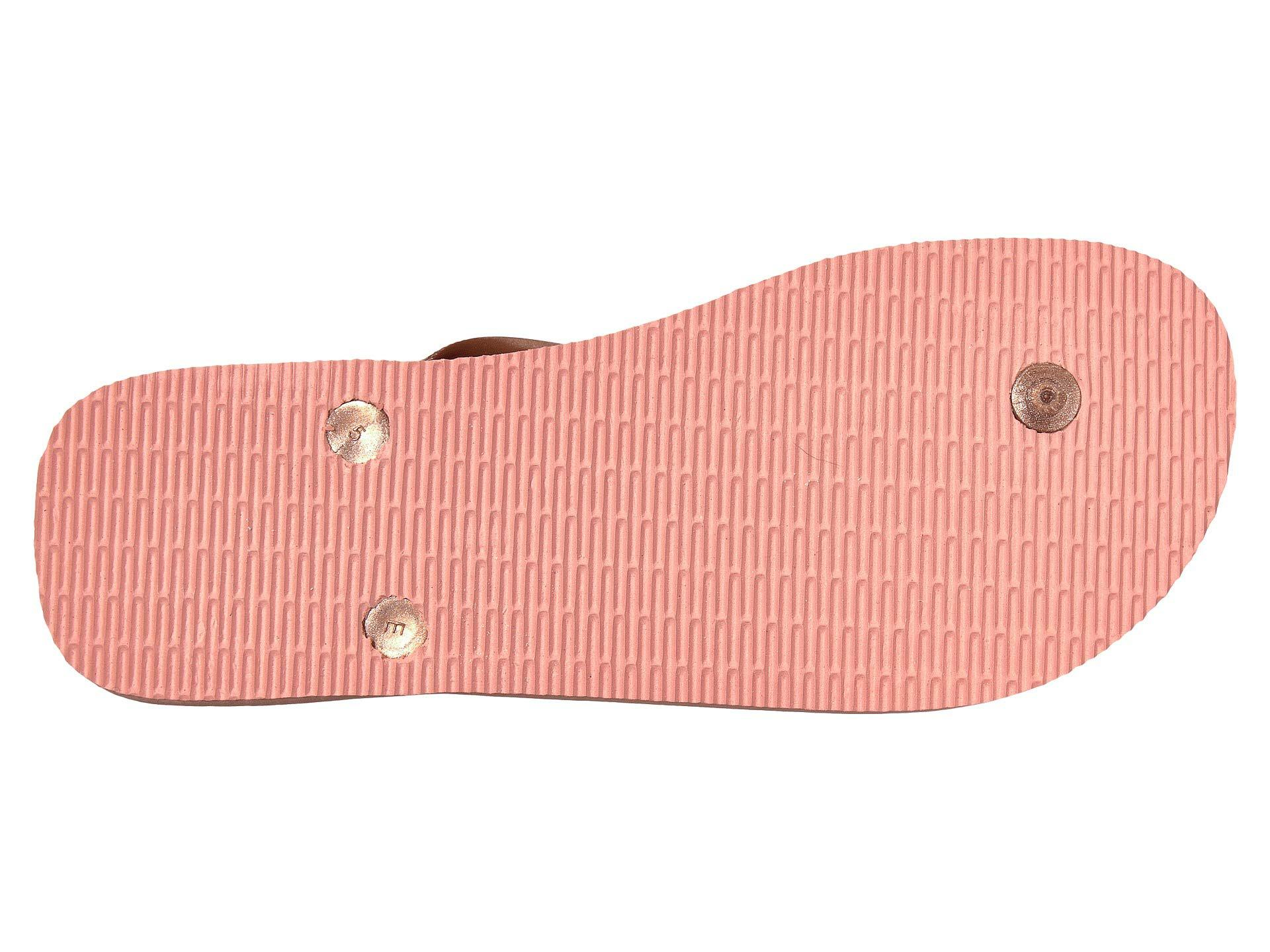 c2201fcc81c87 Havaianas - Pink Top Tiras Flip-flops (steel Grey) Women s Sandals - Lyst.  View fullscreen