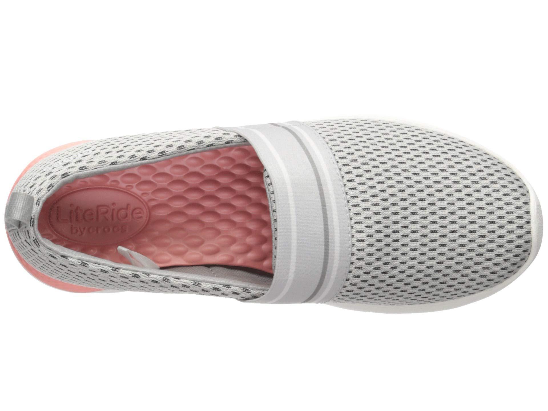 61ad4c85c650 Crocs™ - White Literide Mesh Slip-on Sneaker - Lyst. View fullscreen
