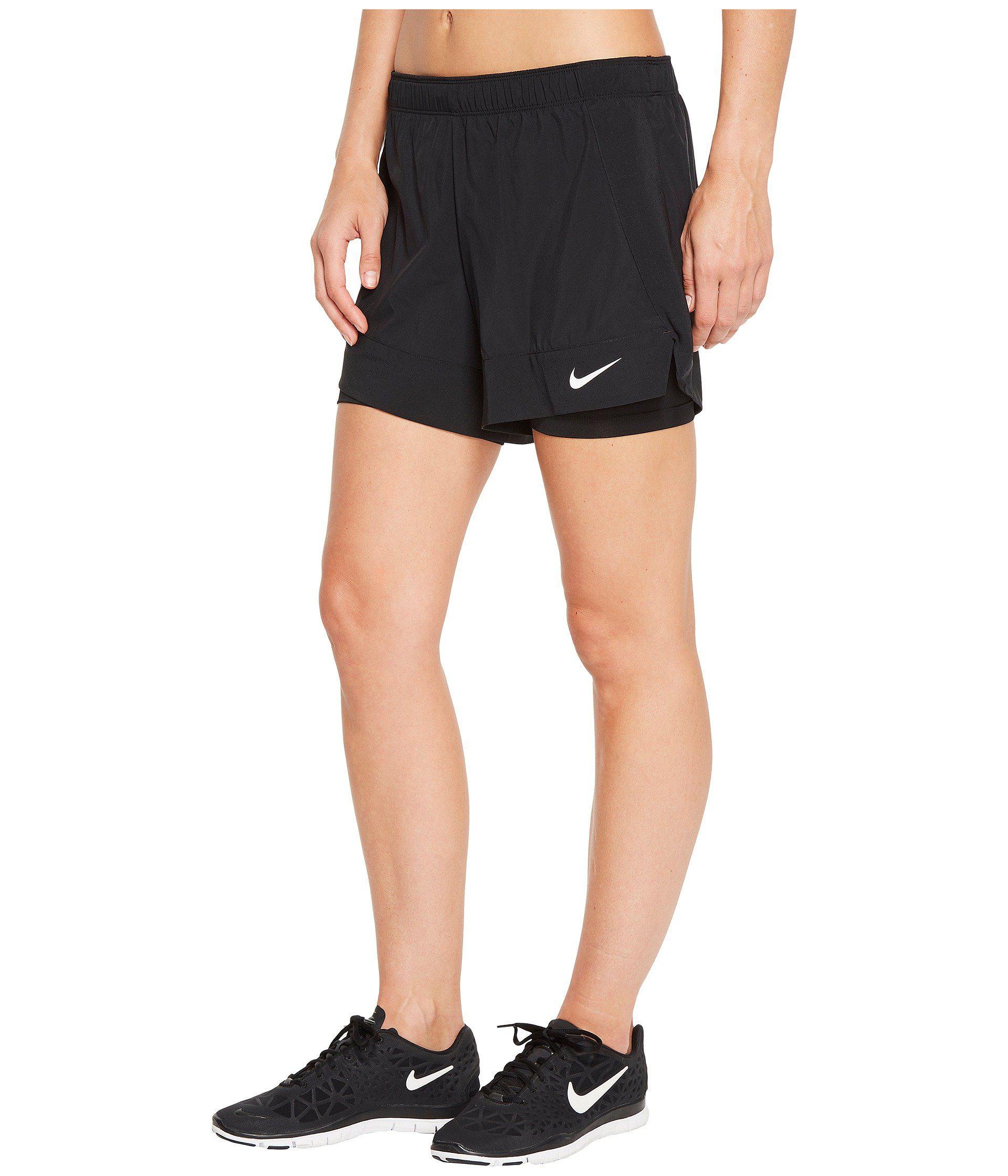 nike women's 2 in 1 shorts