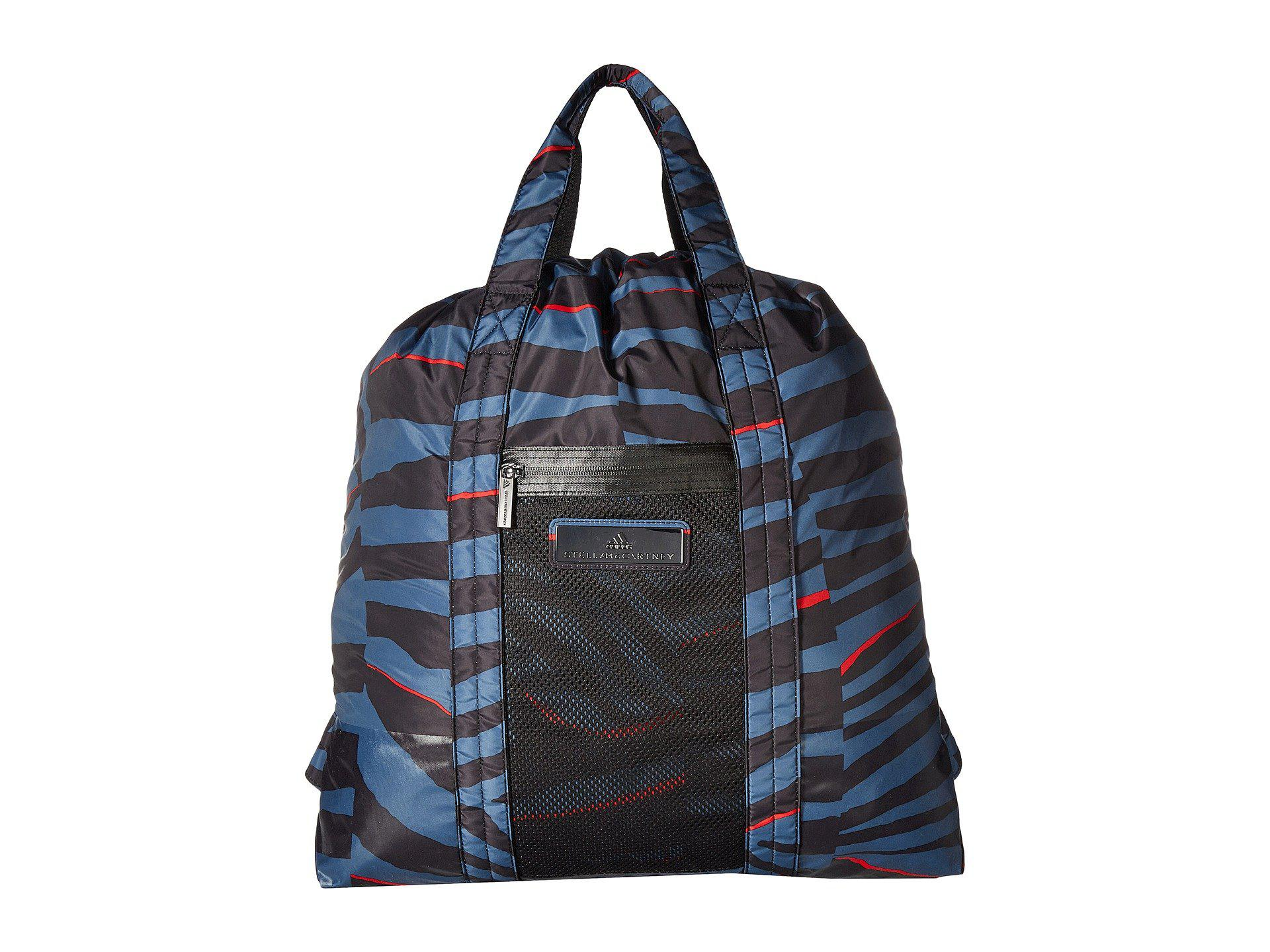 80f8ca801a Lyst - adidas By Stella McCartney Gym Sack (black dark Callistos ...