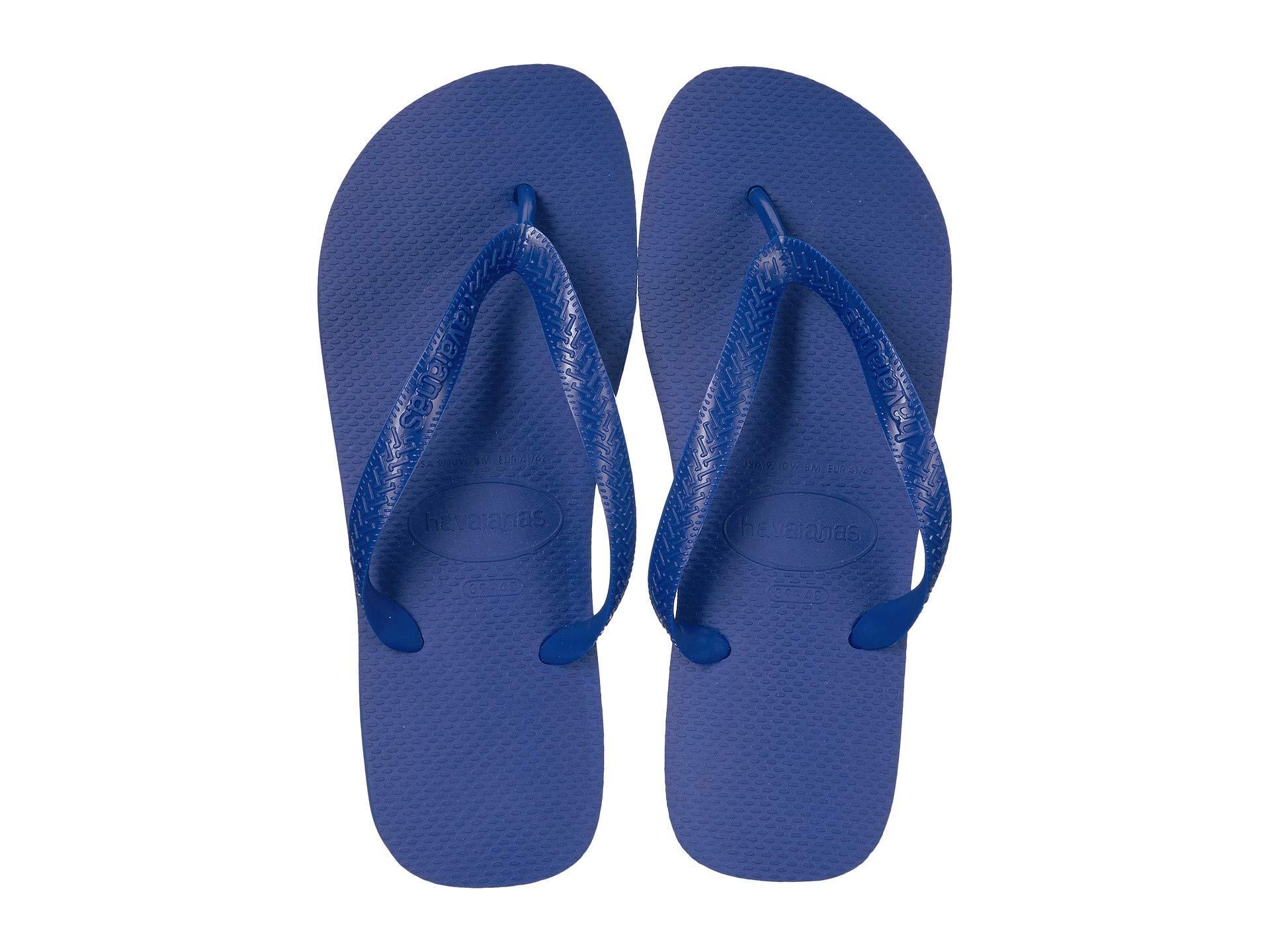 0145b56b7 Lyst - Havaianas Top Flip Flops (hollywood Rose) Women s Sandals in Blue