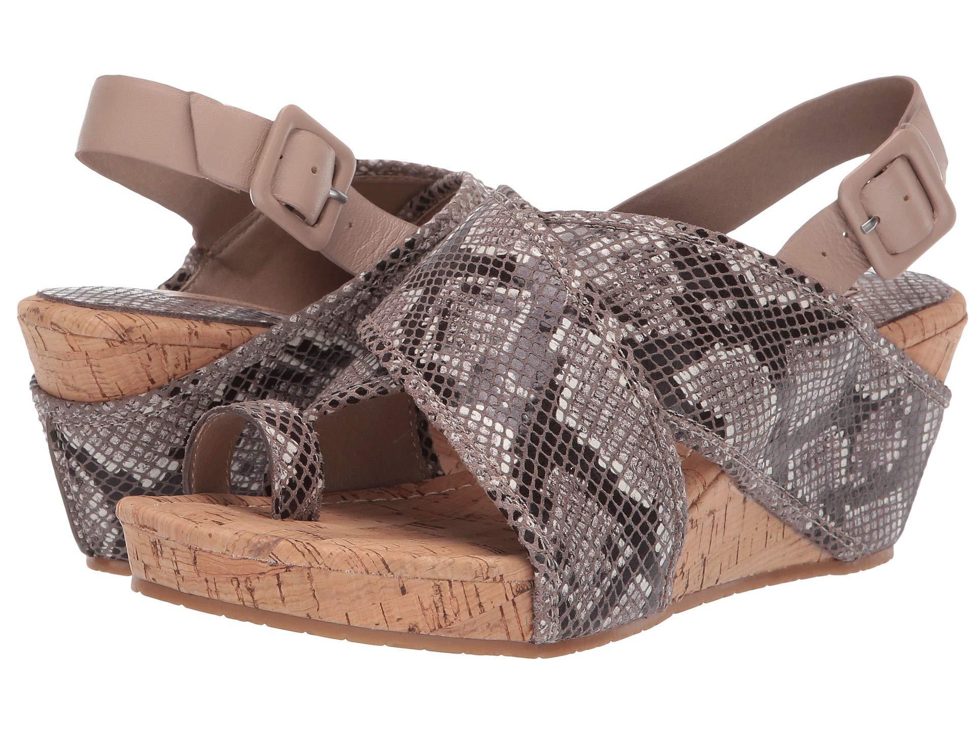 186e0860ef3 Lyst - Donald J Pliner Gary (navy Python Print) Women s Wedge Shoes