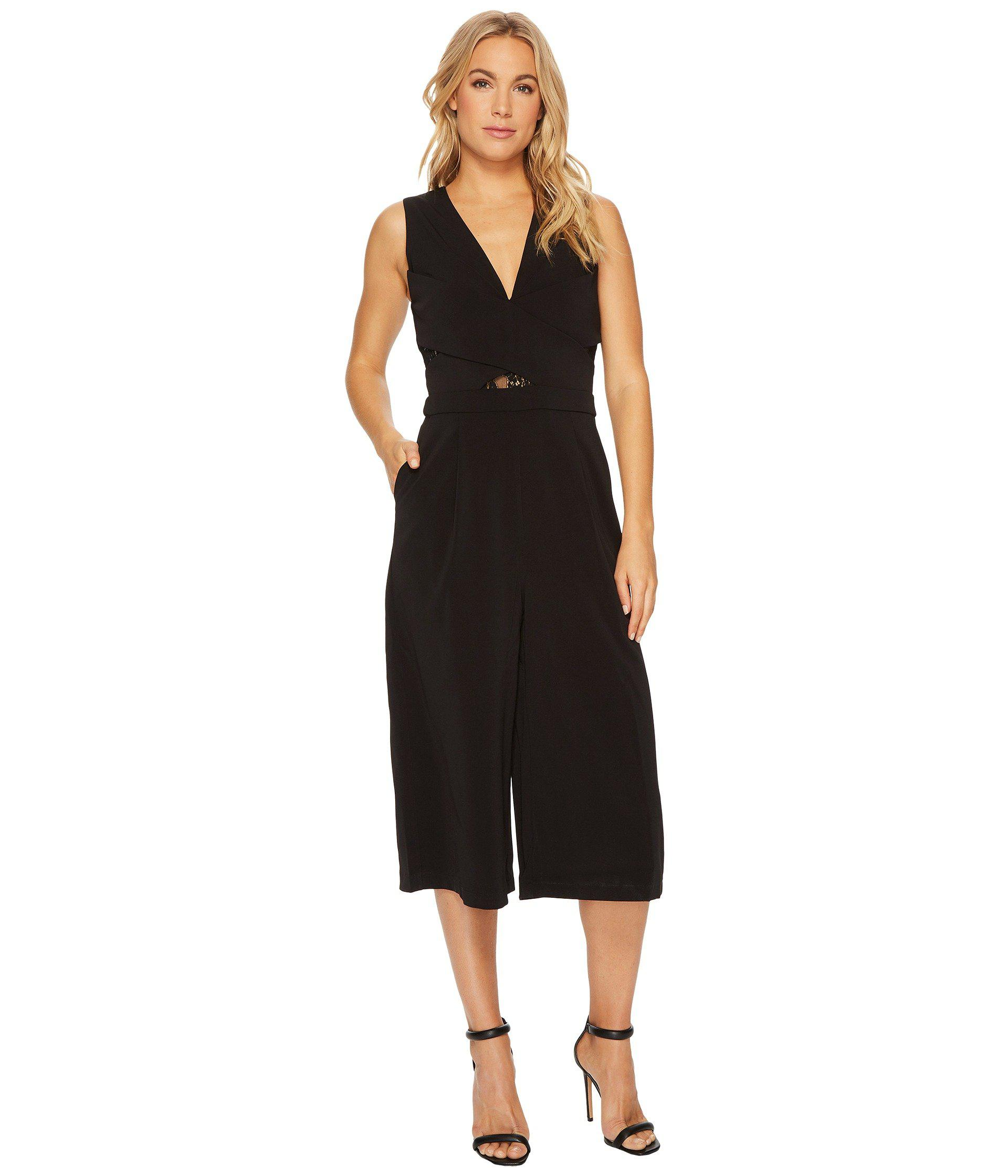 3d07a7667a3 Lyst - Adelyn Rae Lola Culottes in Black