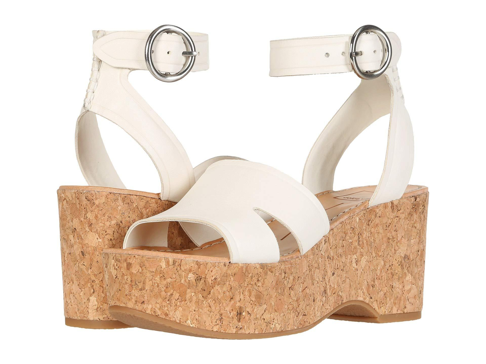 92bb3c5ae8c0 Lyst - Dolce Vita Linda (black Leather) Women s Shoes in White