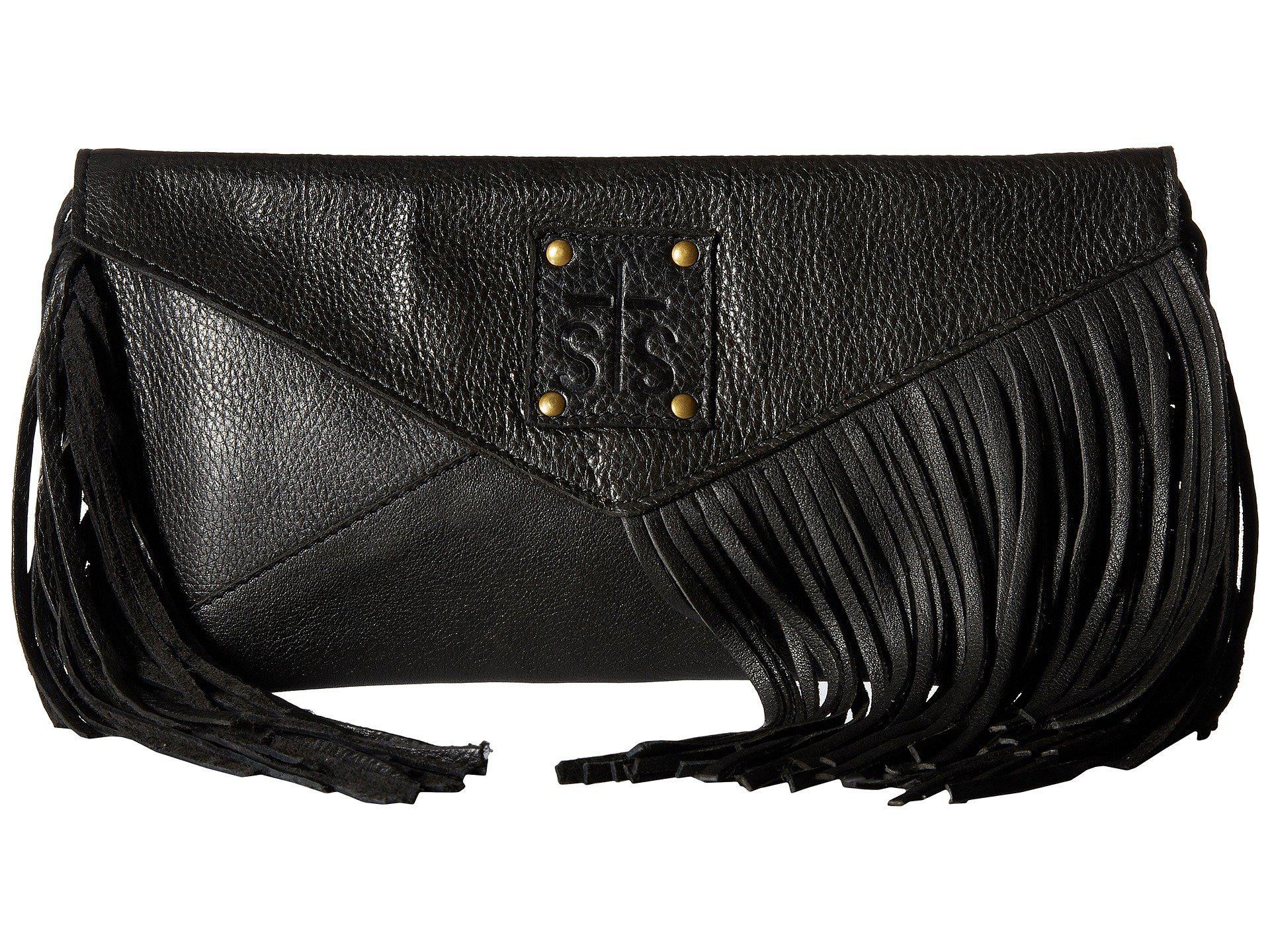 666f33b7a89a STS Ranchwear. Women s Black Envelope Clutch (urban Powder Fog) Clutch  Handbags