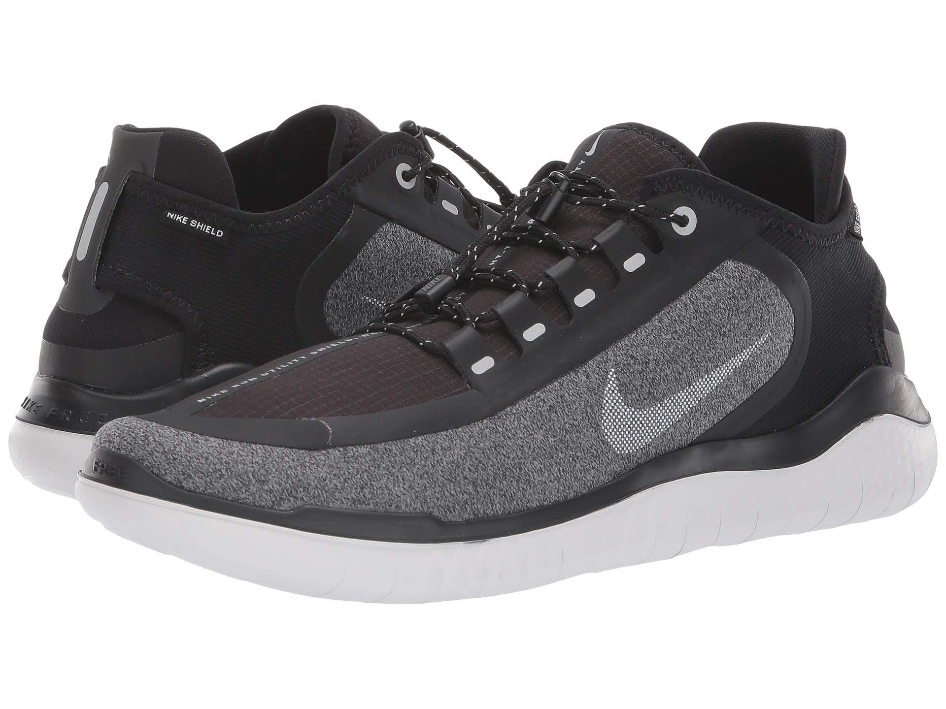 6649174241c72 Lyst - Nike Free Rn 2018 Shield Training Shoes in Black for Men