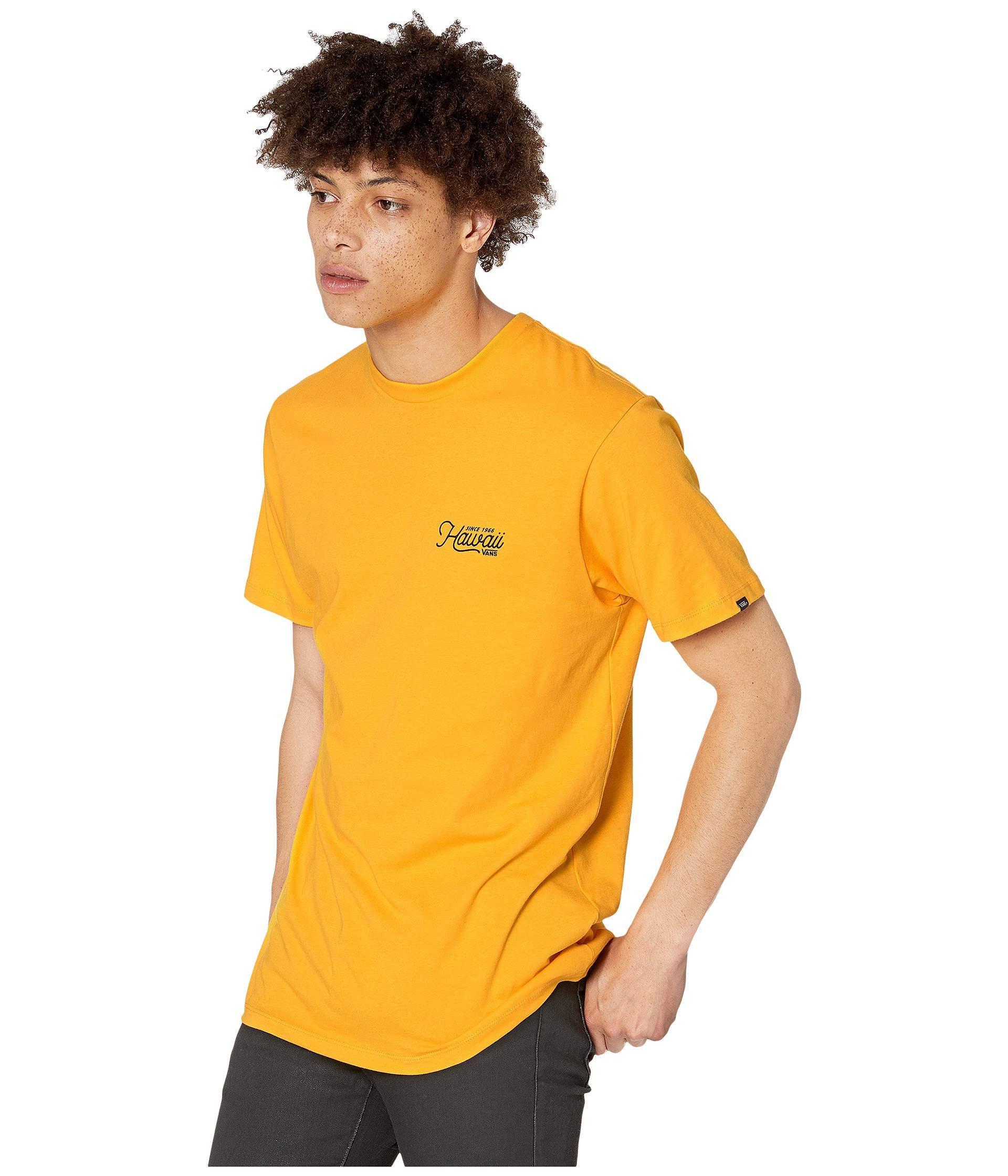 5cdd37291e10 Vans Original Hi T-shirt (gold Fusion) Men's T Shirt in Yellow for Men -  Lyst