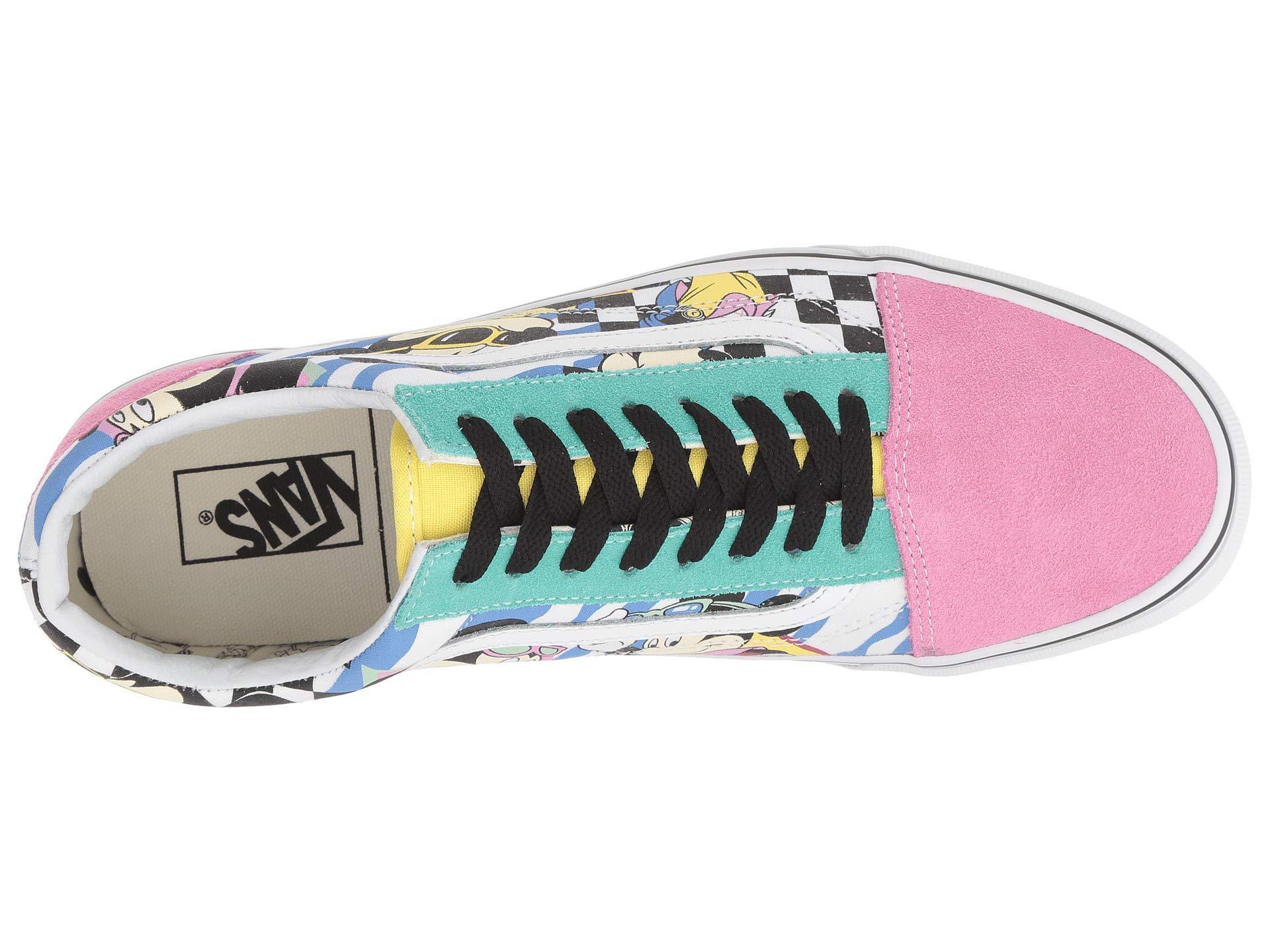 scarpe old skool disney x vans
